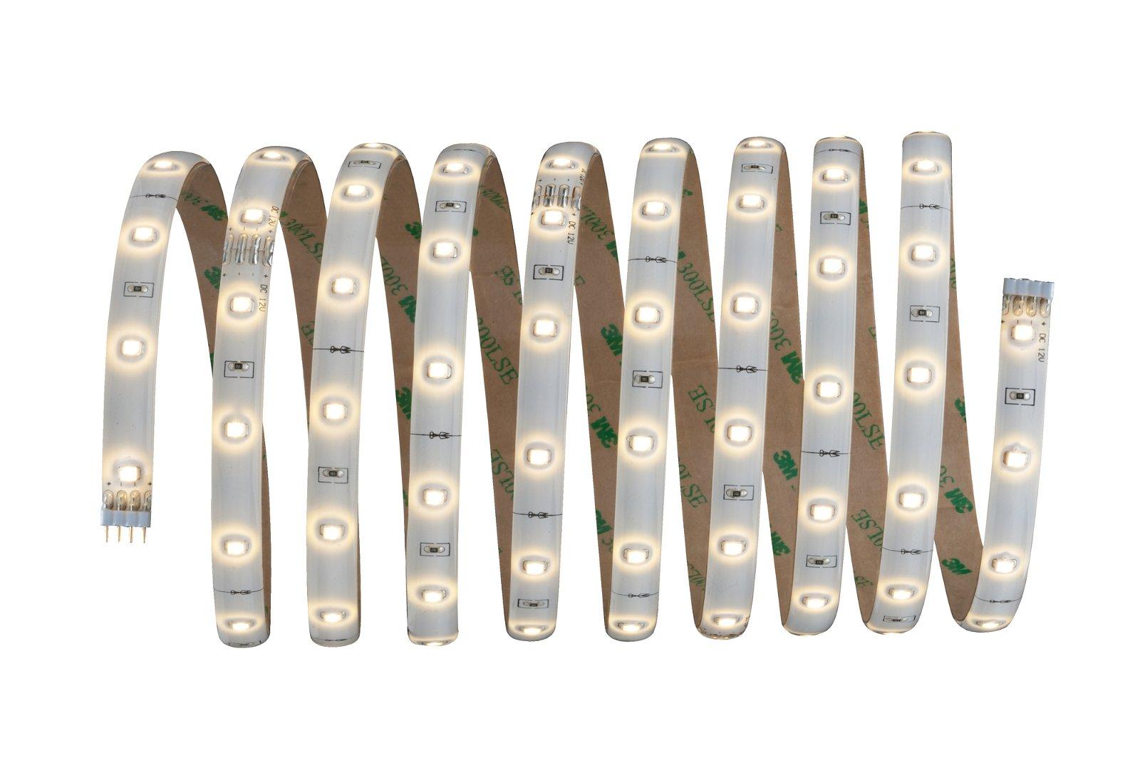YourLED LED Strip Warm wit 3m gecoat 7,5W 267lm/m 3000K 18VA