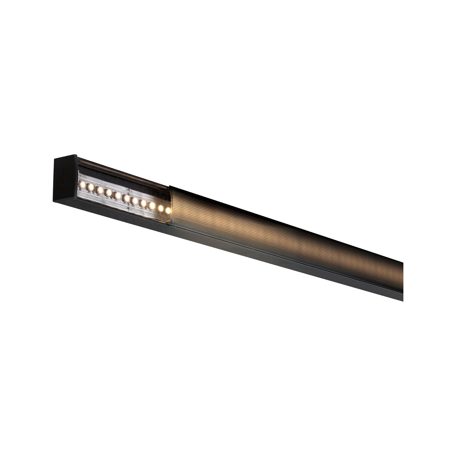 LED Strip Profil Square 2m Schwarz