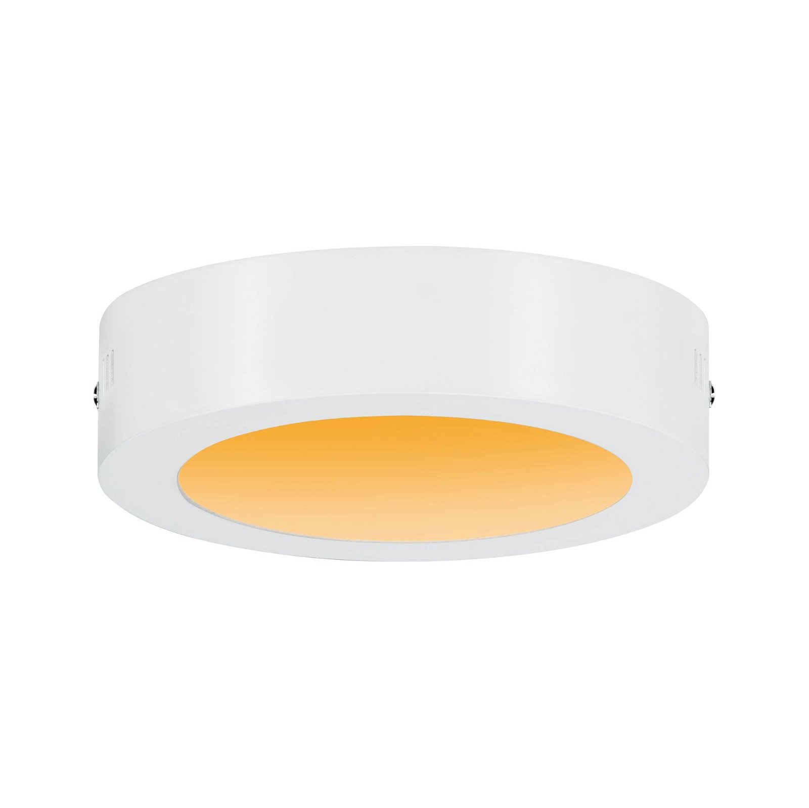 LED Panel Carpo Warm Dim rund 170mm 2300 - 3000K Weiß matt