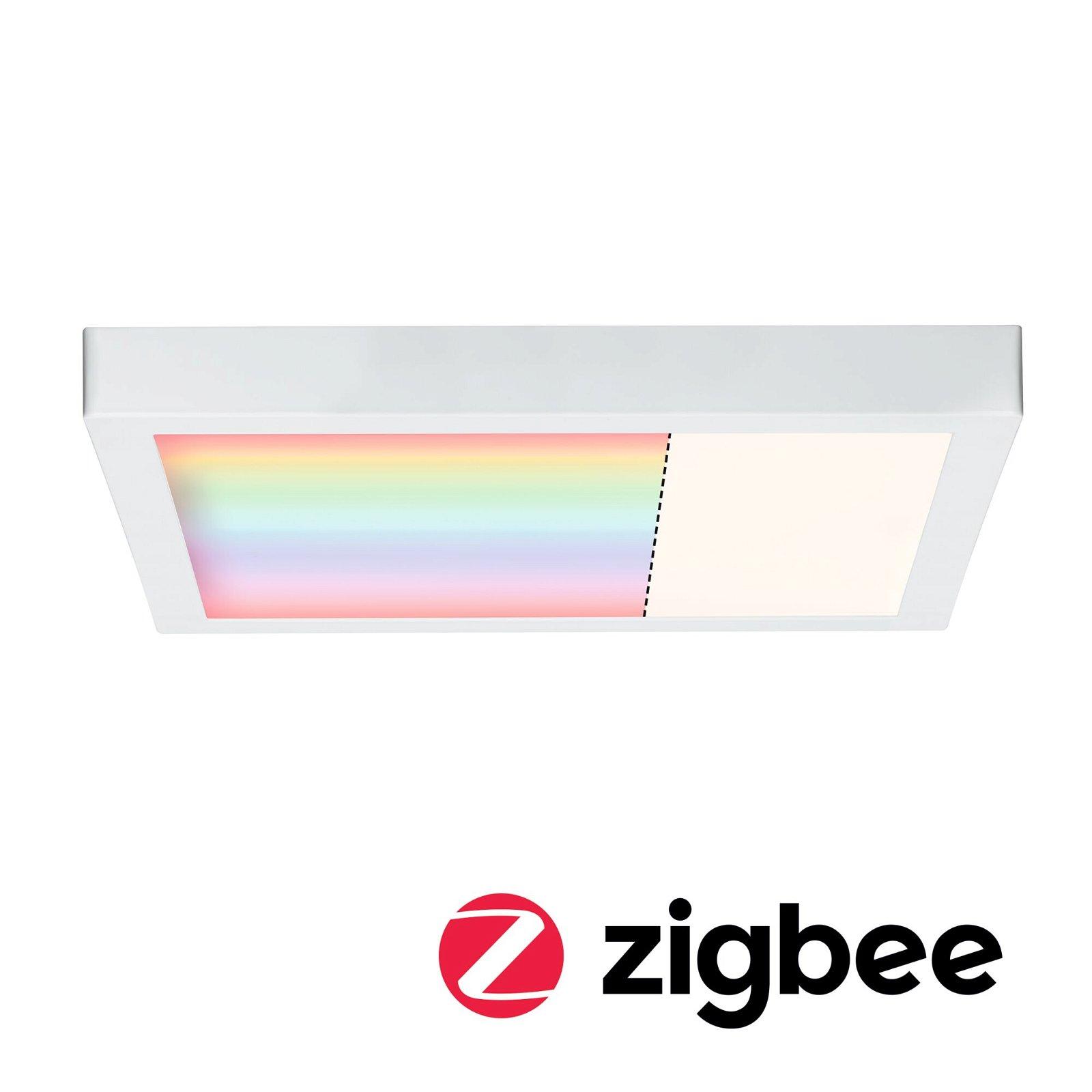 LED Panel Smart Home Zigbee Cesena eckig 400x400mm RGB Weiß matt