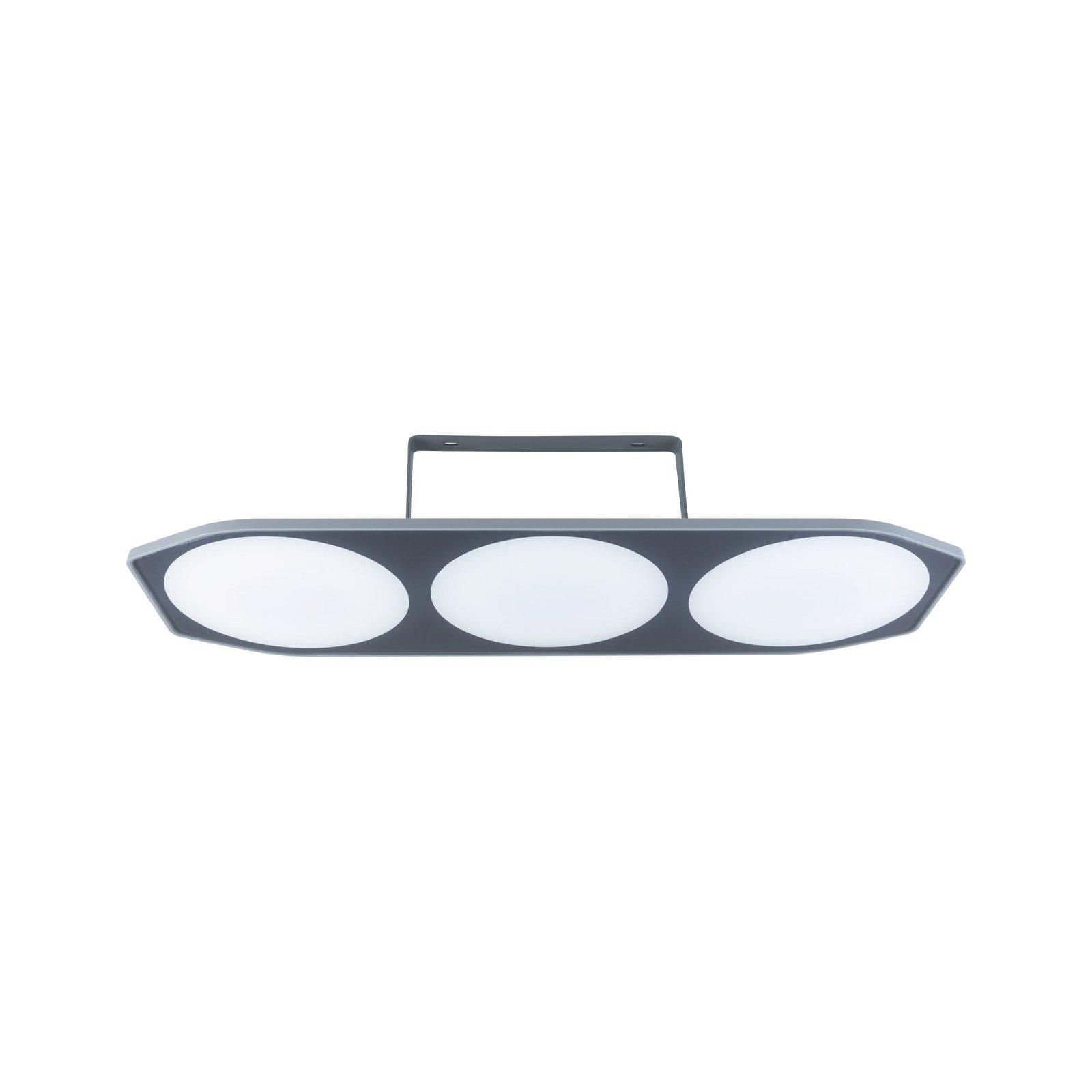 Park + Light LED-wandarmatuur voor buiten Carport IP44 501x111mm 3000K 3x2W 3x180lm 12V Antraciet Kunststof