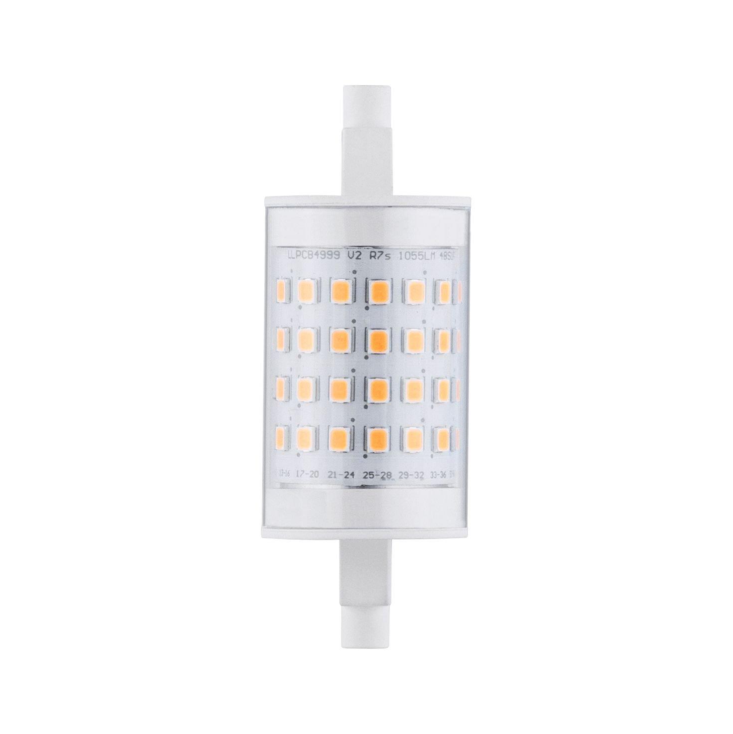 Tige LED R7s 230V 1055lm 9W 2700K Clair