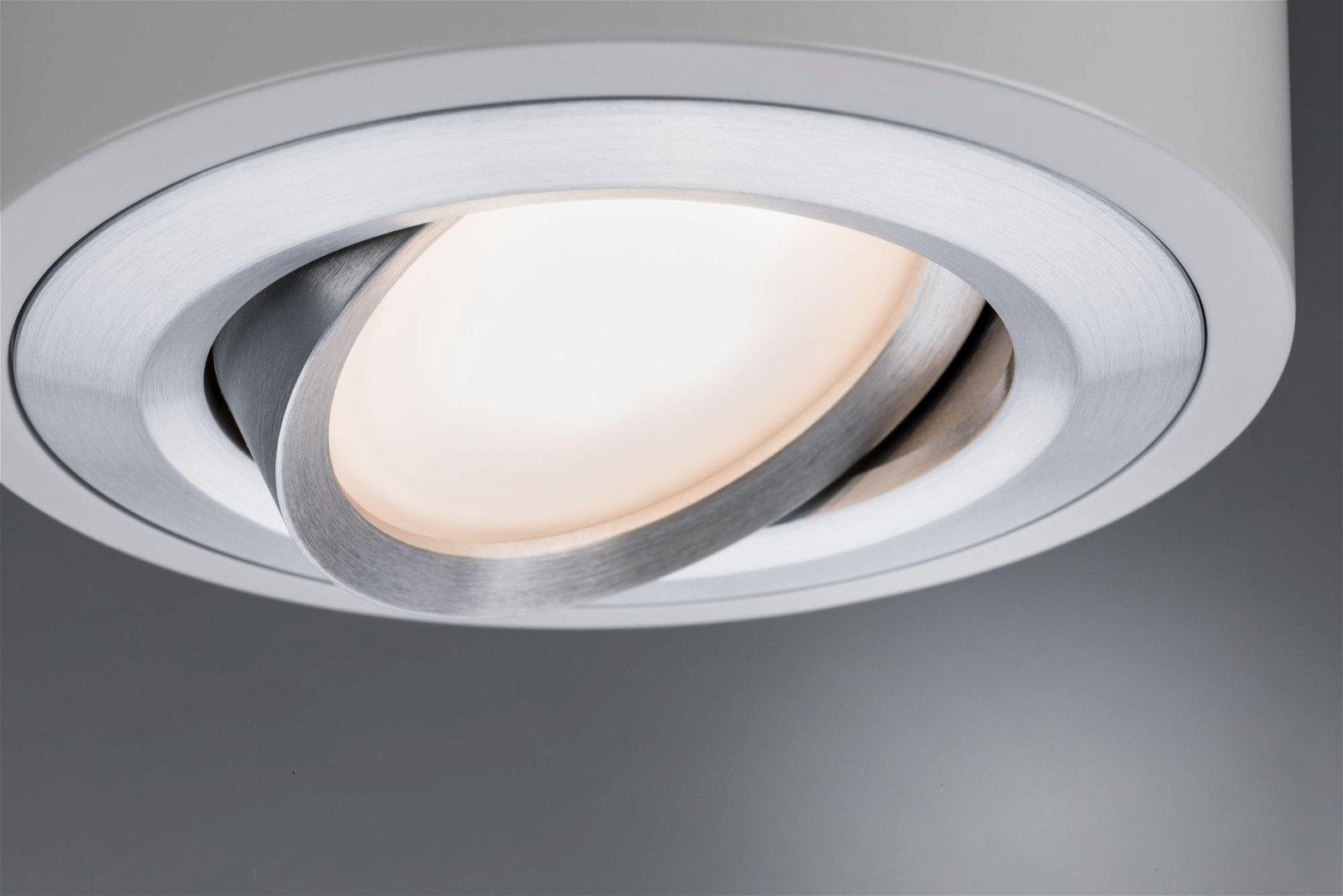 LED Wandleuchte Argun 3000K 475lm 230V 4,8W Alu gebürstet
