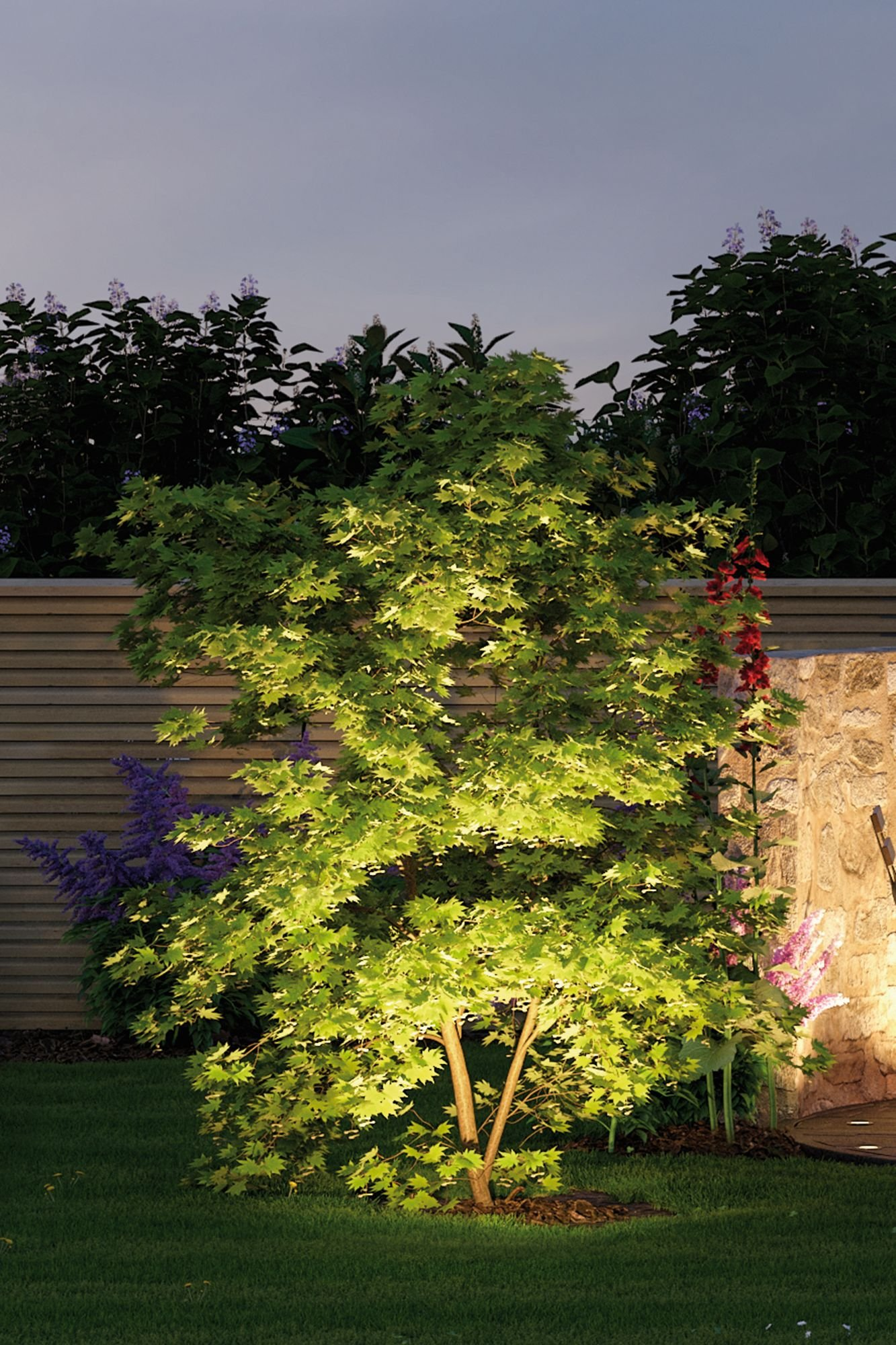Plug & Shine Projecteur de jardin LED Sting Spot individuel IP67 3000K 6W Anthracite