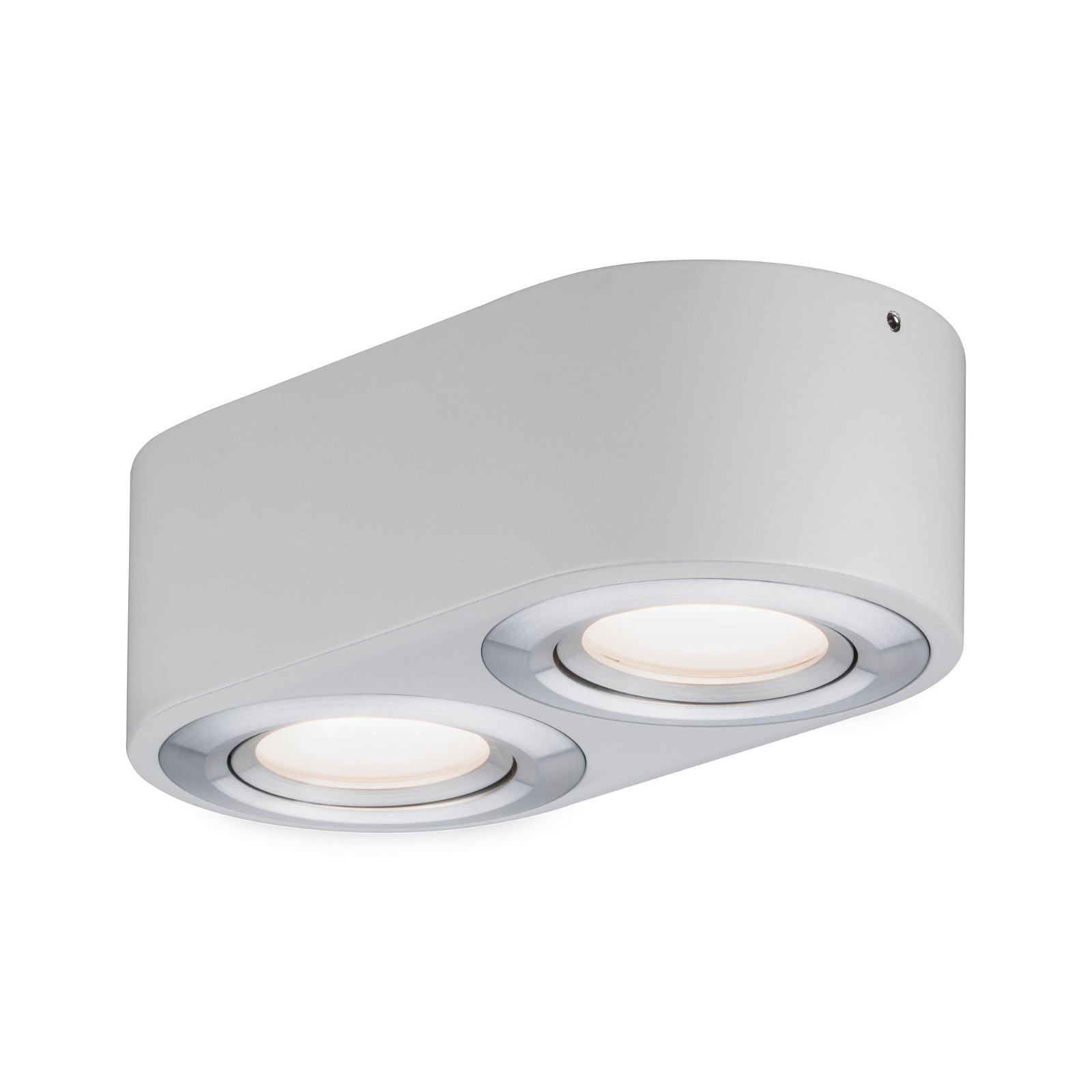 LED Wandleuchte Argun 3000K 2x475lm 230V 2x4,8W Alu gebürstet