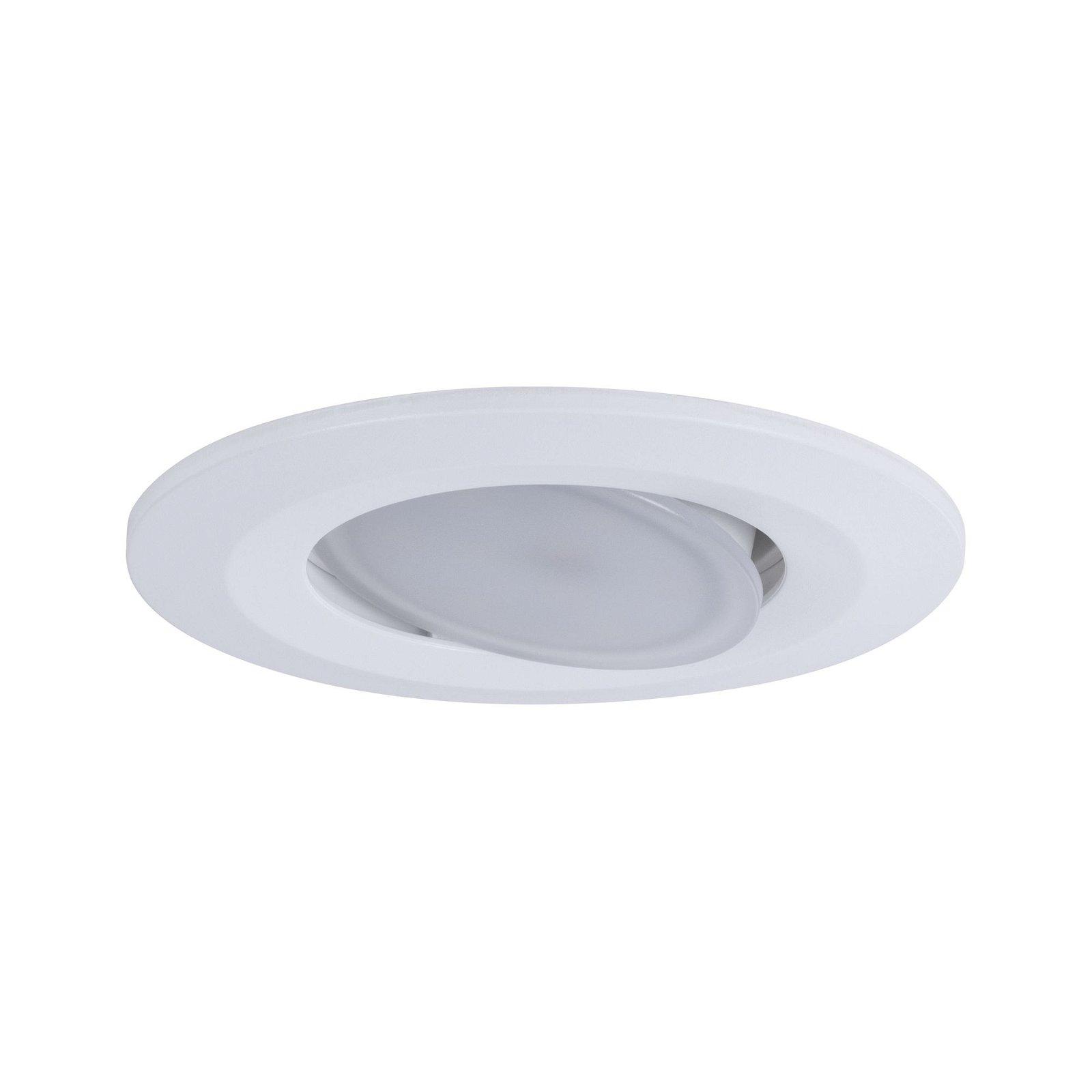 HomeSpa Spot encastré LED Calla Kit de 3 orientable IP65 rond 90mm 30° 5,5W 520lm 230V White Switch Blanc