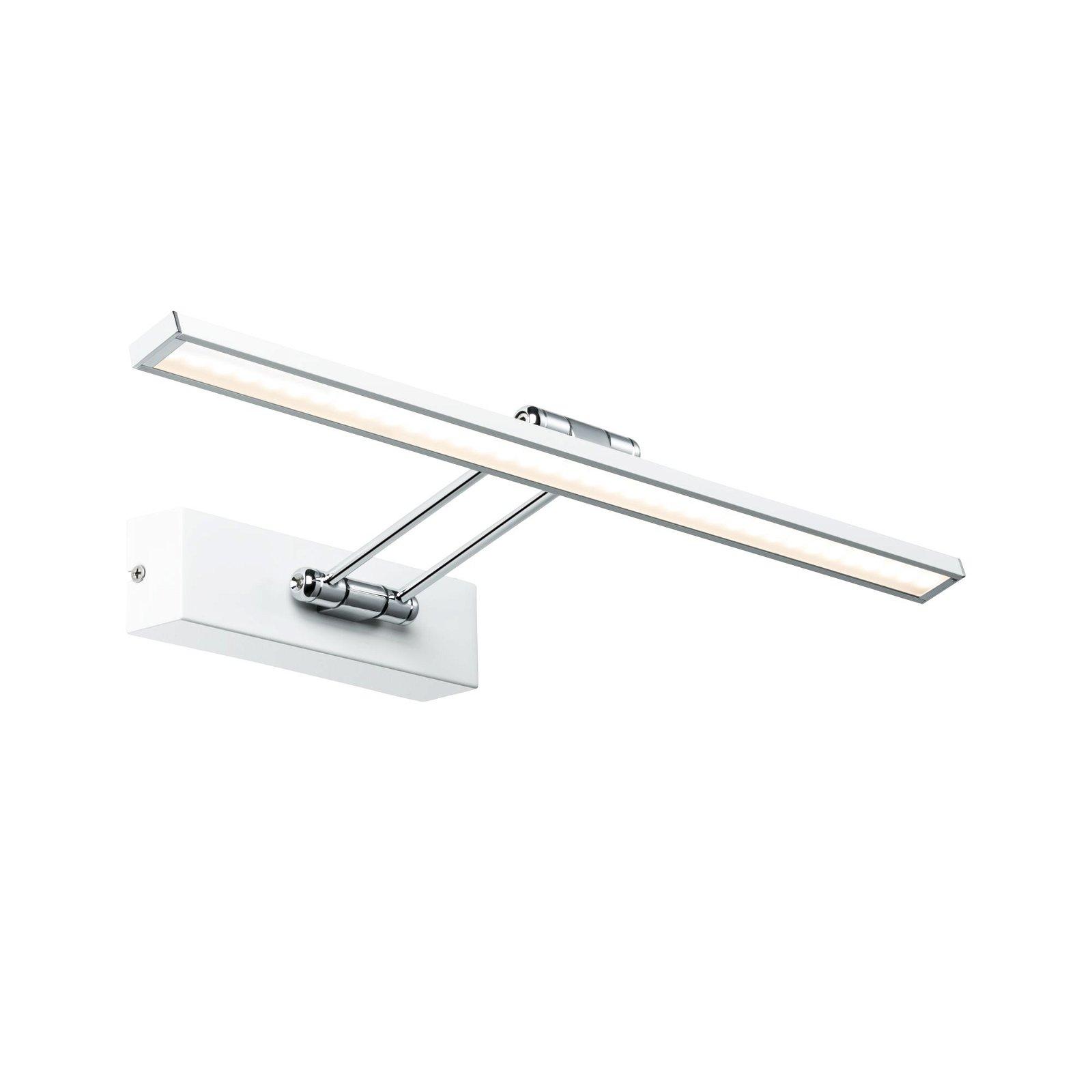 Galeria LED-schilderijlamp Beam 2700K 850lm 230V 7W Wit/Chroom