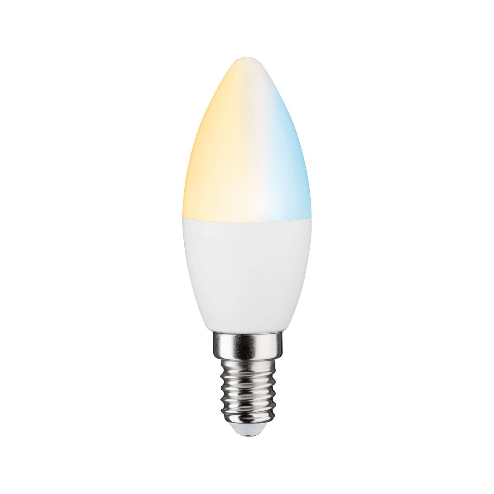 LED Kerze Smart Home Zigbee E14 230V 400lm 5W Tunable White Matt