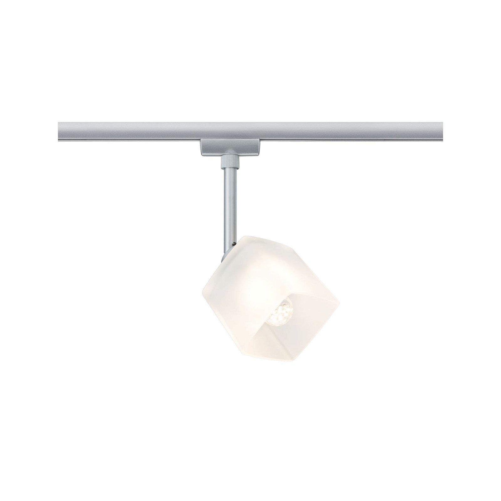 URail, LED-Spot, 3W, Quad 230V, Chrom matt / Weiß