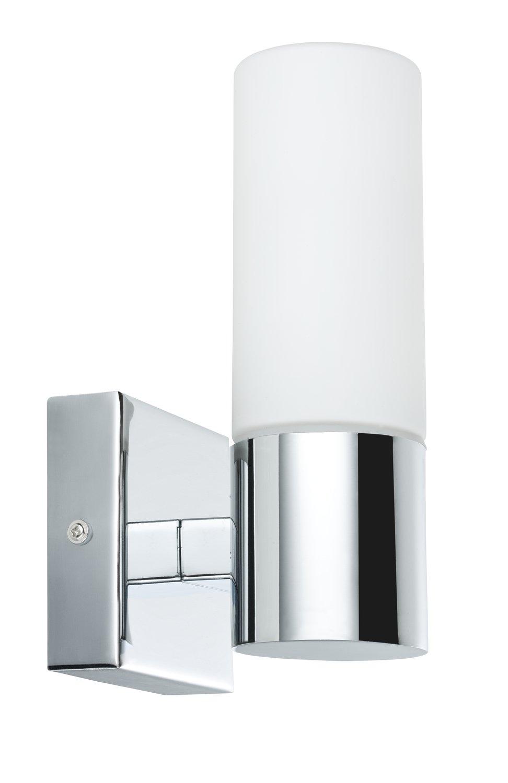 Spiegelleuchte Gemini IP44 E14 230V max. 2x20W Chrom/Satin