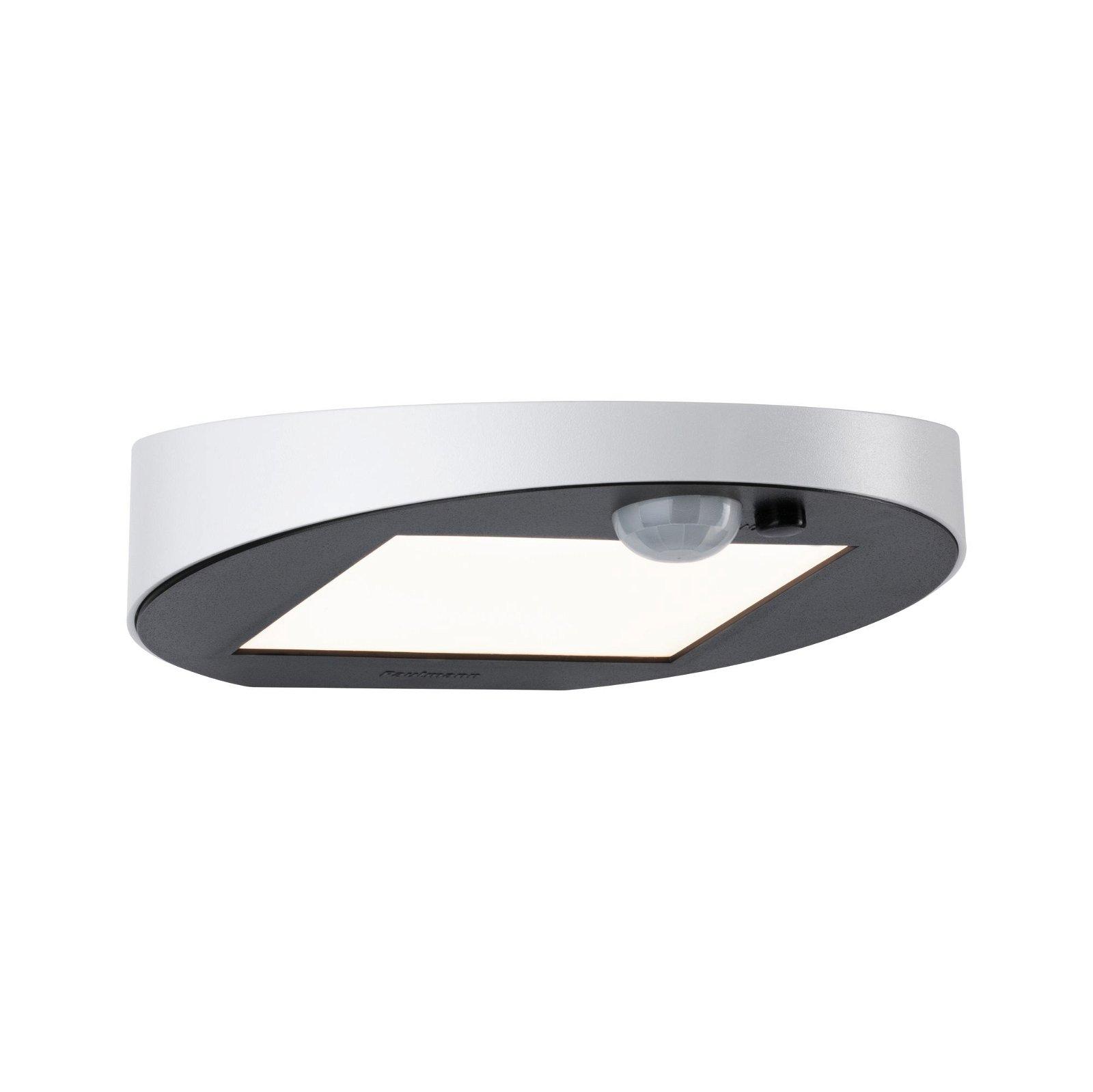 Solar LED Außenwandleuchte Ryse Bewegungsmelder IP44 3000K 145lm Weiß