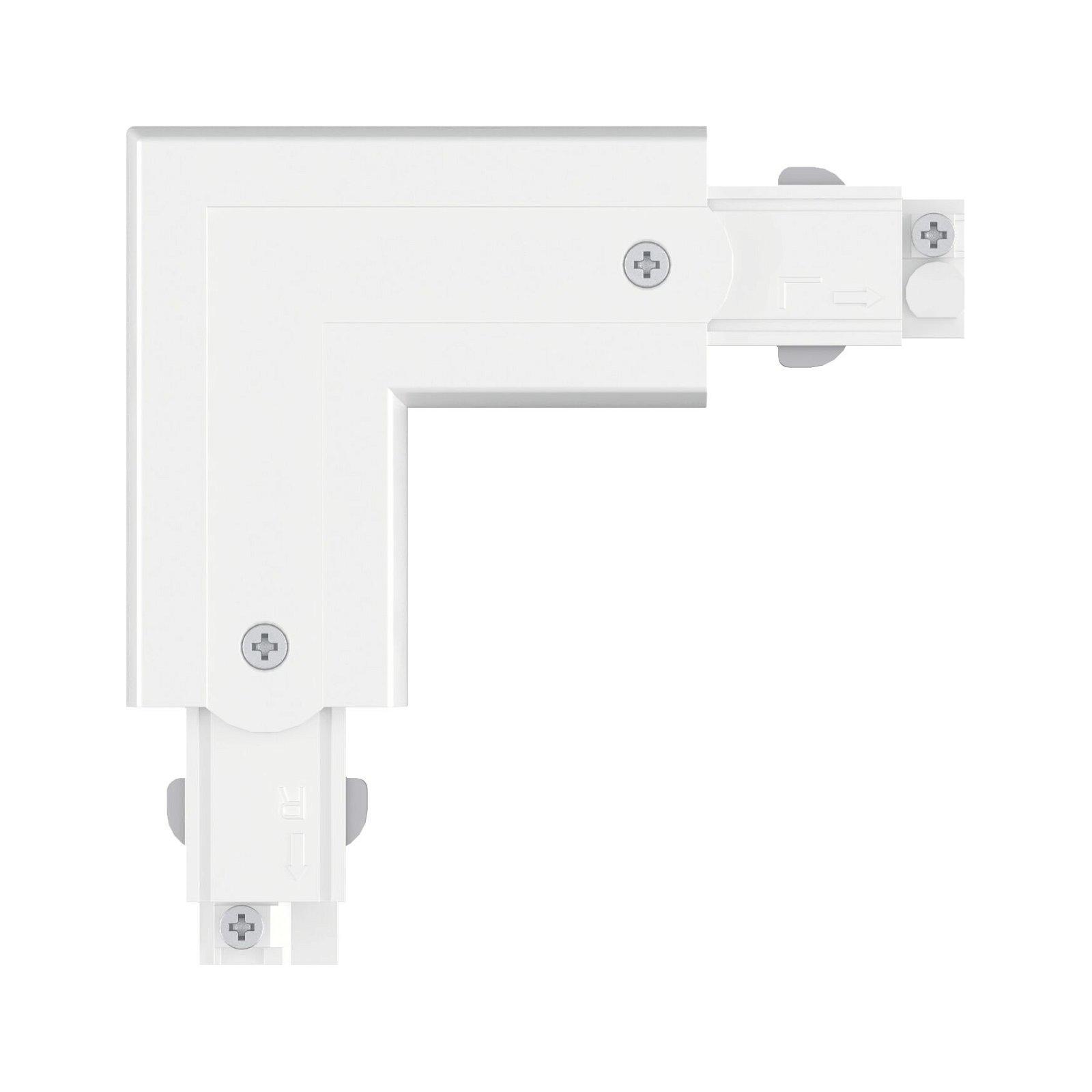 ProRail3 Verbinder L-Stück Außen 101x101mm max. 3.680W Weiß
