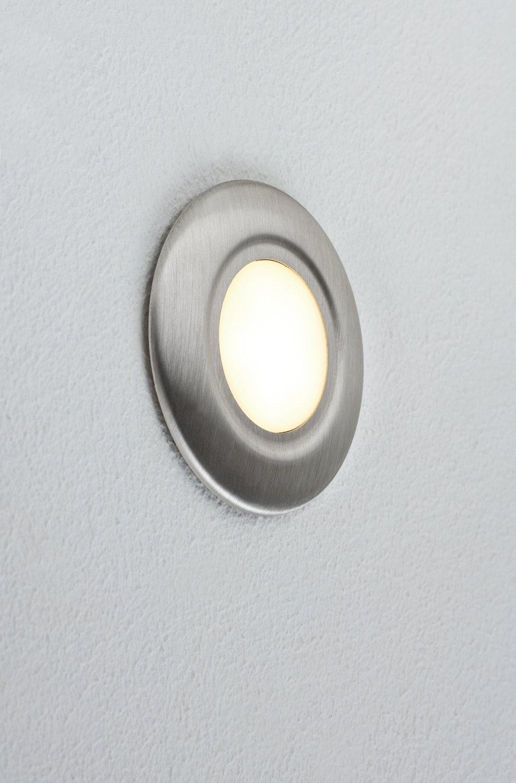 LED Wandeinbauleuchte Special Line rund 86mm Edelstahl