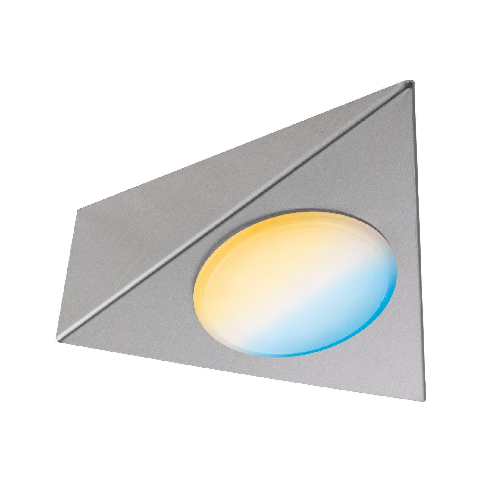 Clever Connect LED Spot Trigo Tunable White 2,1W Nickel gebürstet