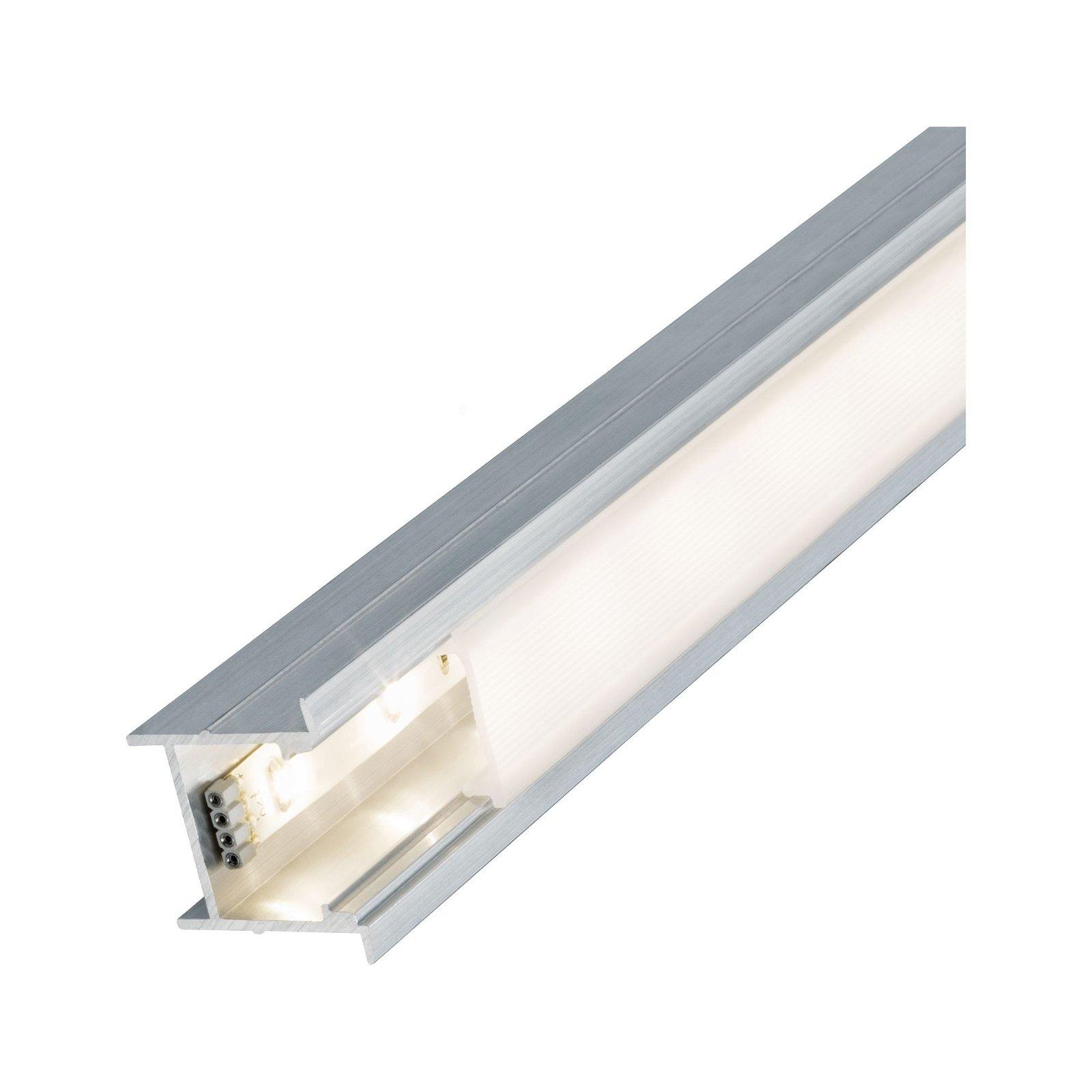 LED Strip Einbauprofil Deep 2m Alu eloxiert/Satin