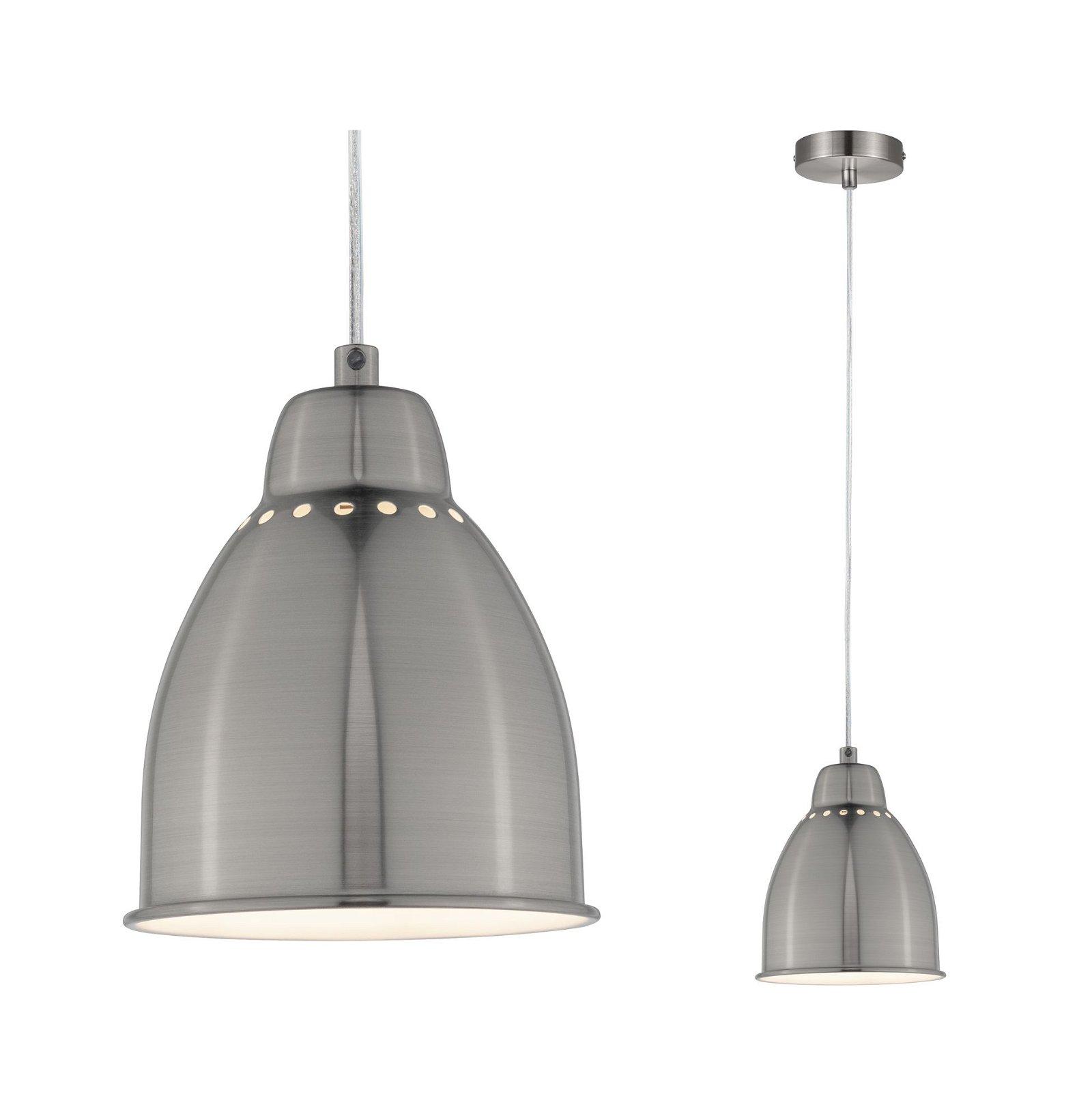 Neordic Pendant luminaire Hilla E27 max. 40W Brushed iron Metal