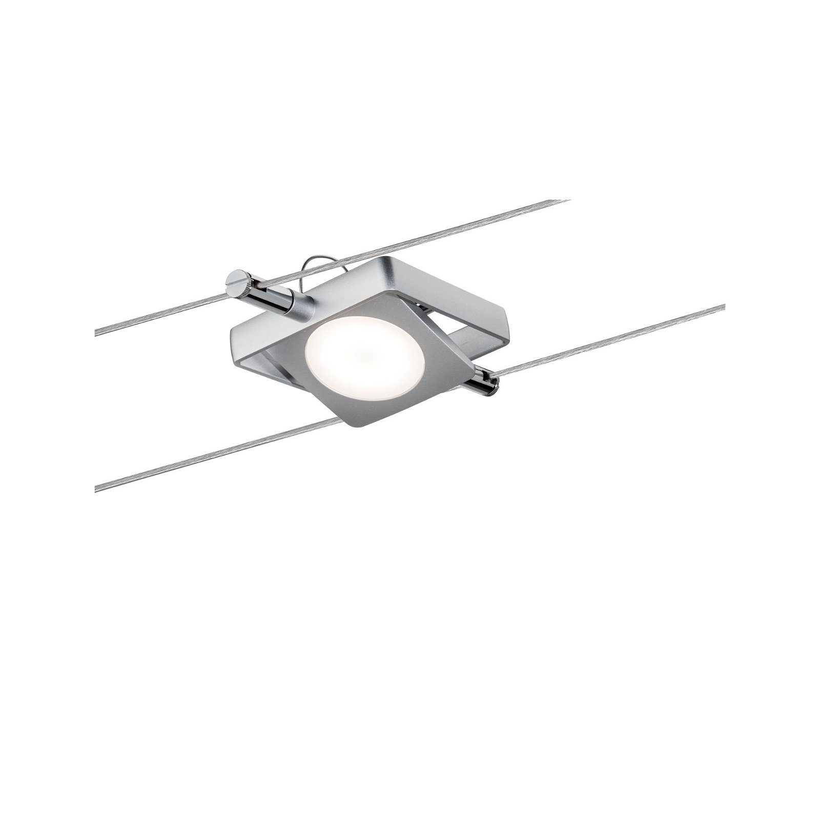 Système câbles LED Bluetooth MacLED Kit de base 4x200lm 4x4W Tunable White 230/12V Chrome mat