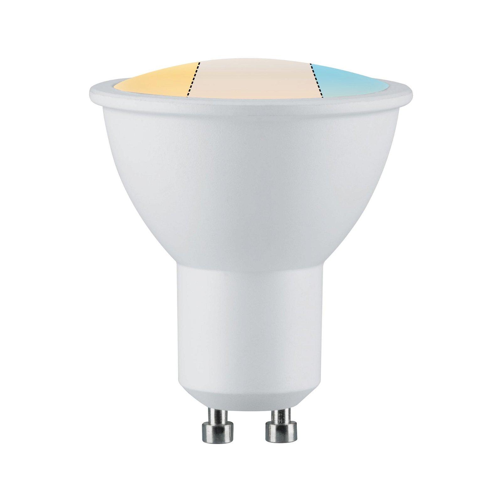 LED Reflektor GU10 230V 470lm 5,9W White Switch Weiß