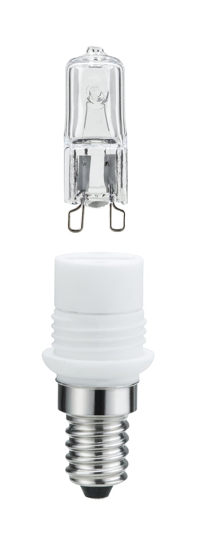 Leuchtmitteladapter E14 230V 460lm 33W 2800K Klar