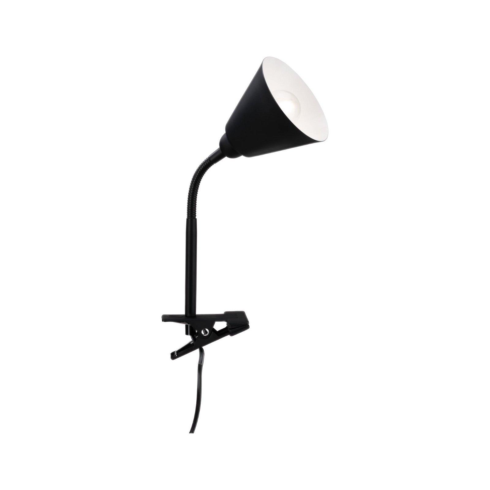 Spot pince Vitis Noir 230V E14