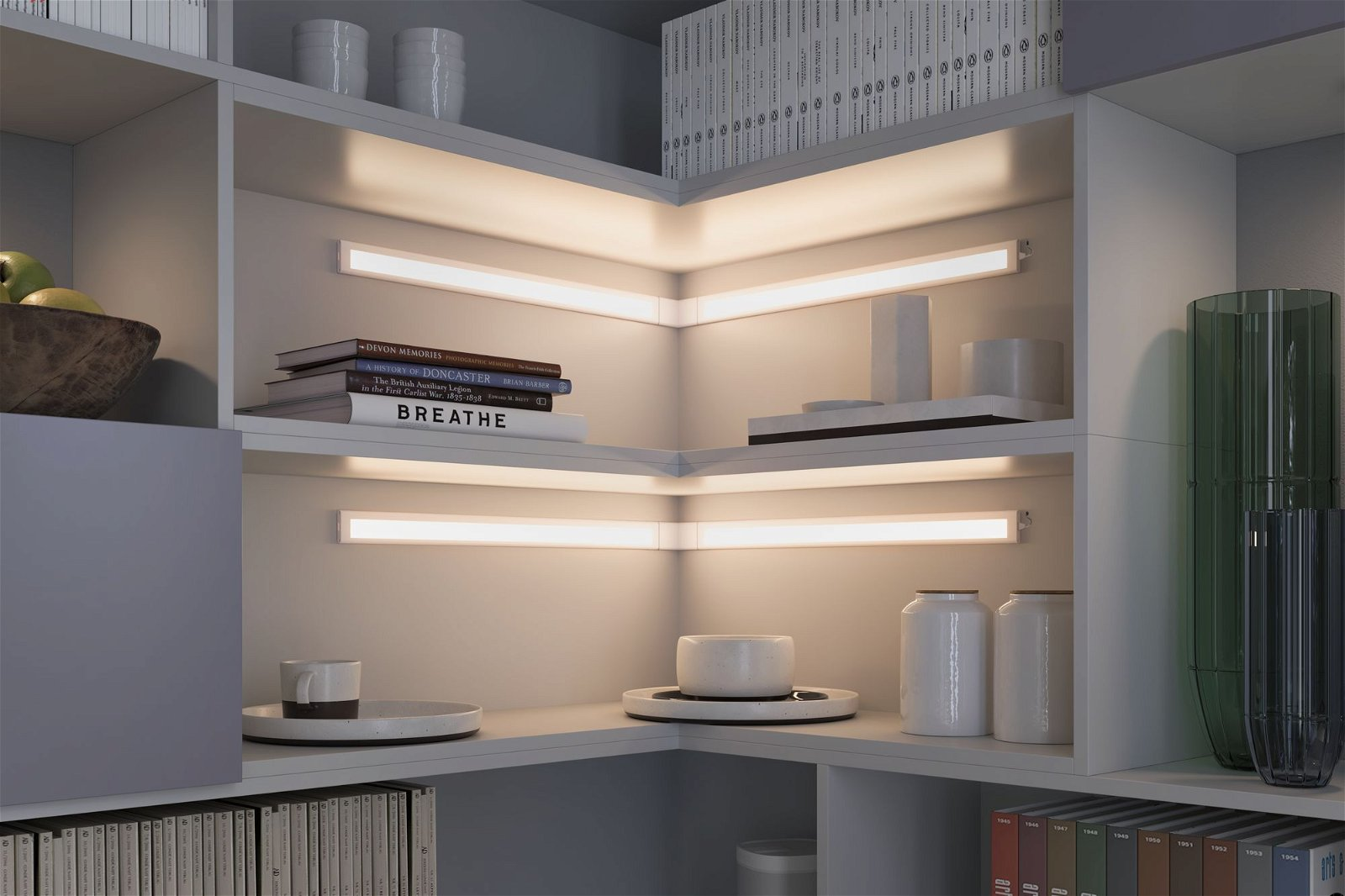 Clever Connect LED-spot Border Tunable White 7,5W Wit mat