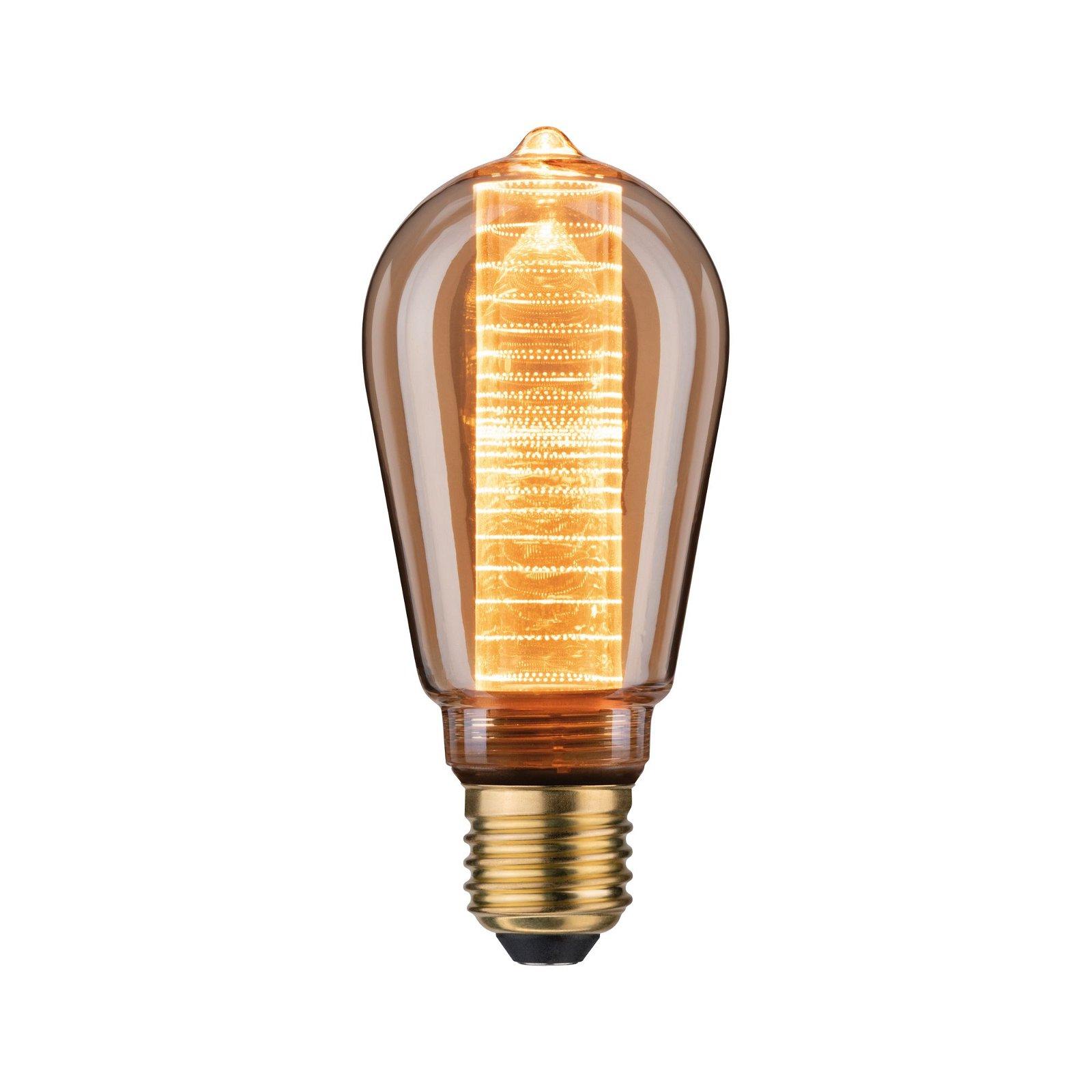 Inner Glow Edition LED Corn Inner corn ring pattern E27 230V 120lm 3,6W 1800K Gold