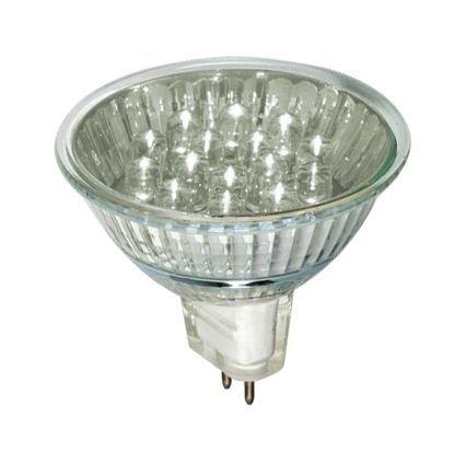 LED reflectorlamp 1 watt GU5,3 warmwit 12 V