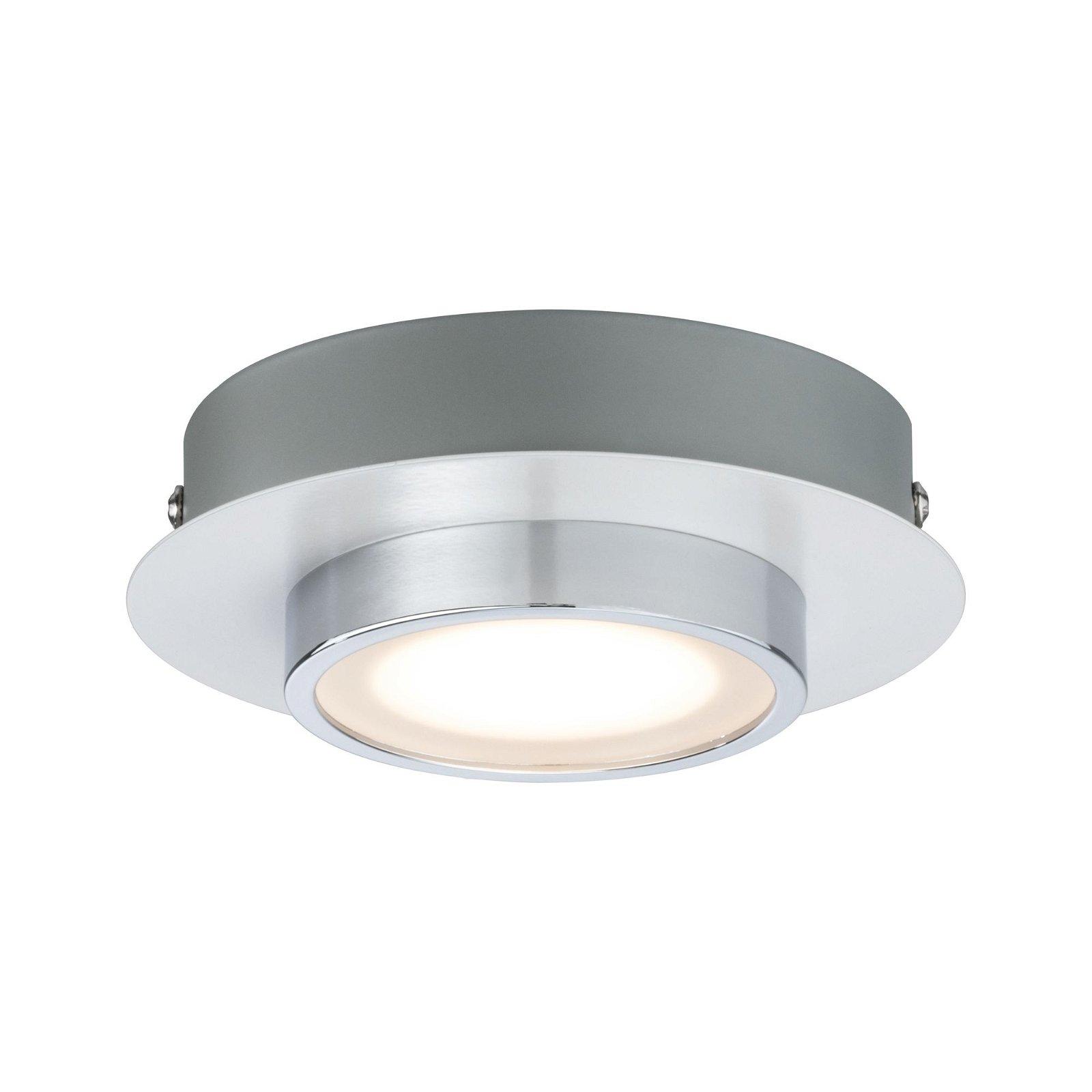 LED Deckenleuchte Liao 3000K 430lm 230V 4,7W Weiß matt/Chrom