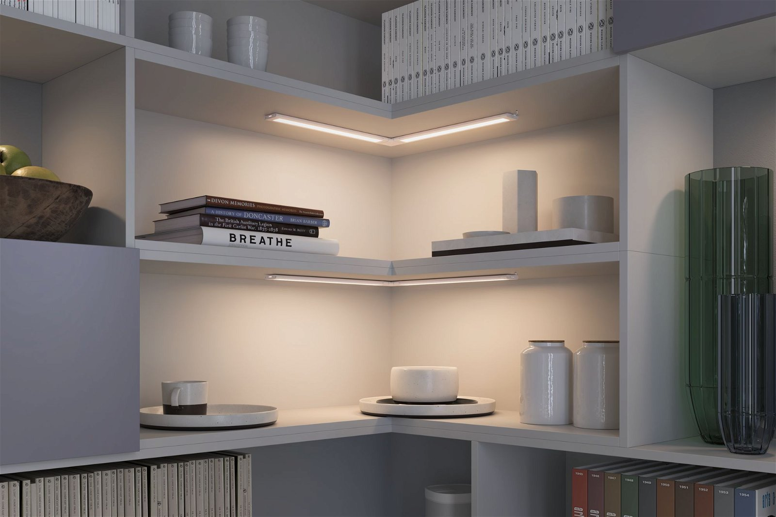Clever Connect LED Spot Border Tunable White 5W Weiß matt