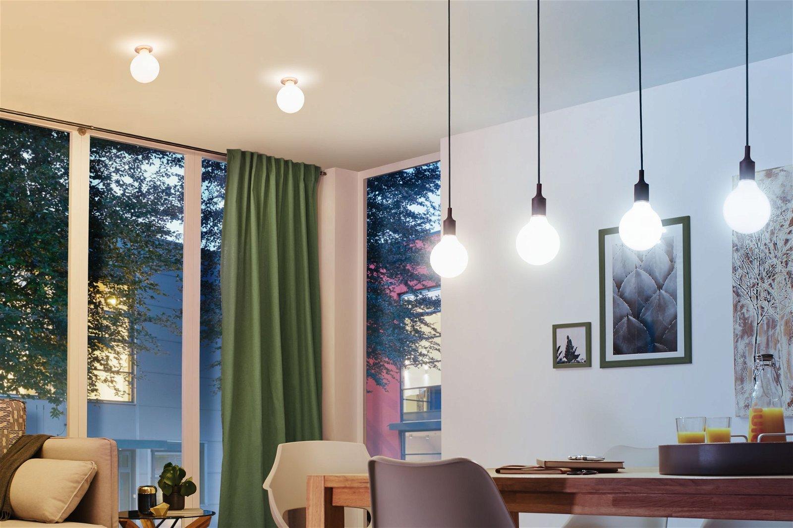 LED Birne Smart Home Zigbee Filament E27 230V 806lm 7W Tunable White Klar