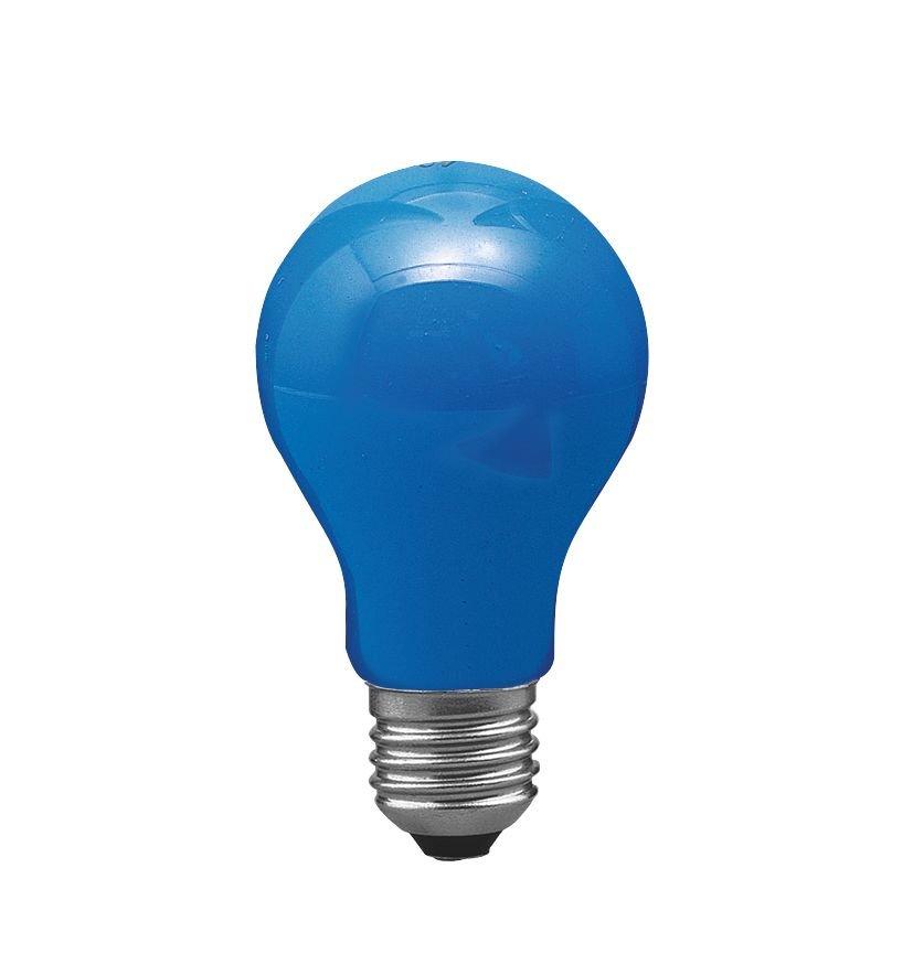 Glühbirne E27 230V 1lm 40W Blau