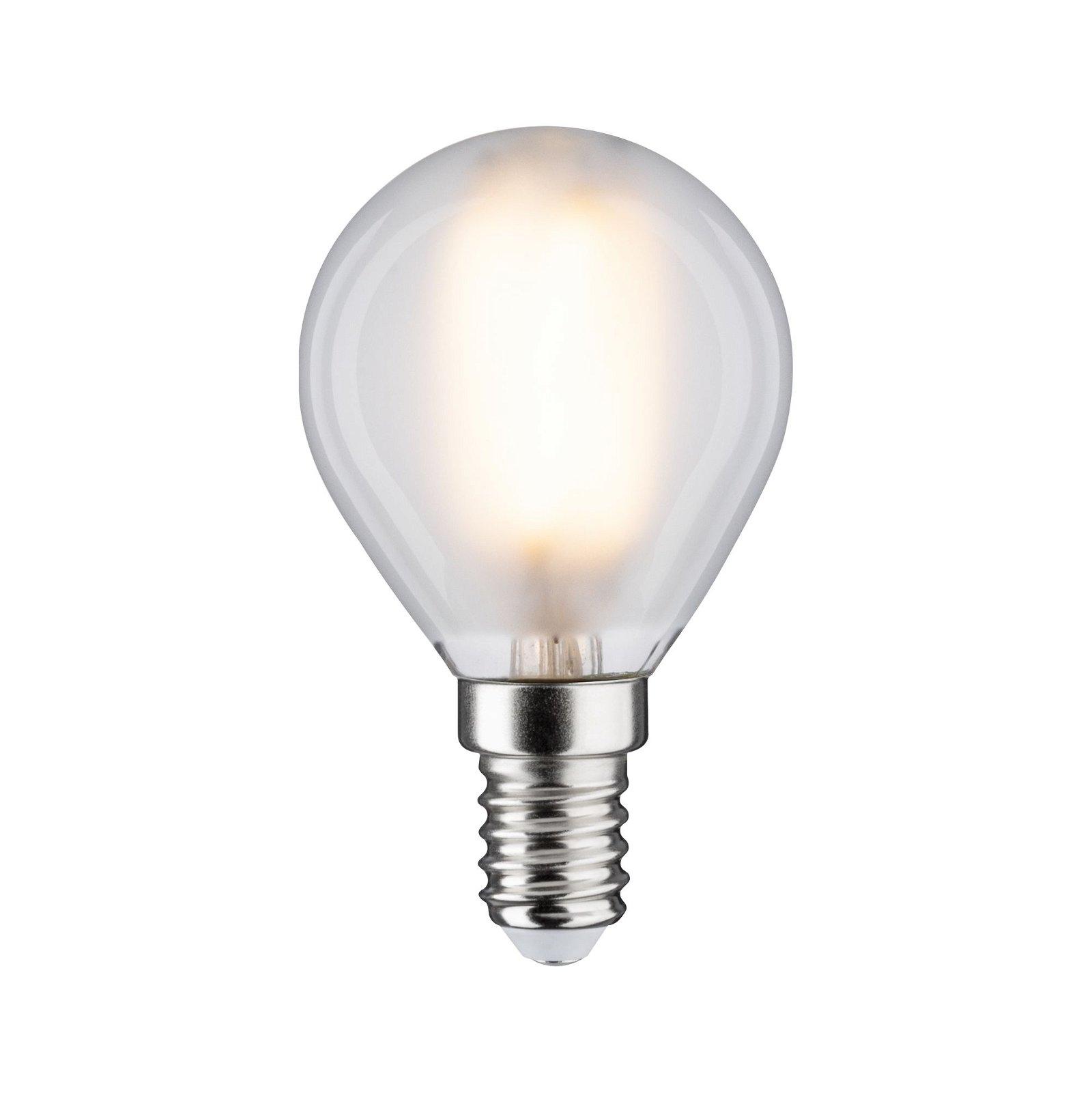 LED-kogellamp Filament E14 230V 470lm 5W 2700K Mat