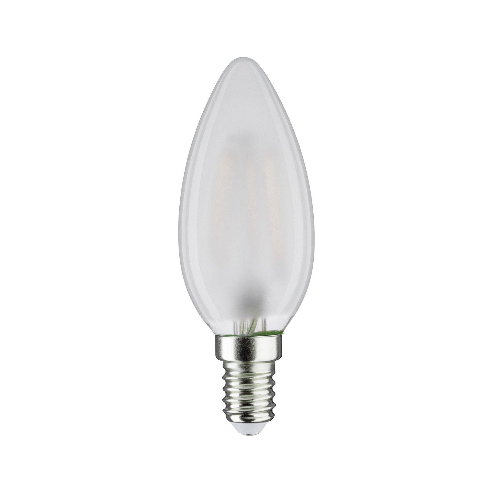 LED Kerze Filament E14 230V 470lm 5W 6500K Matt