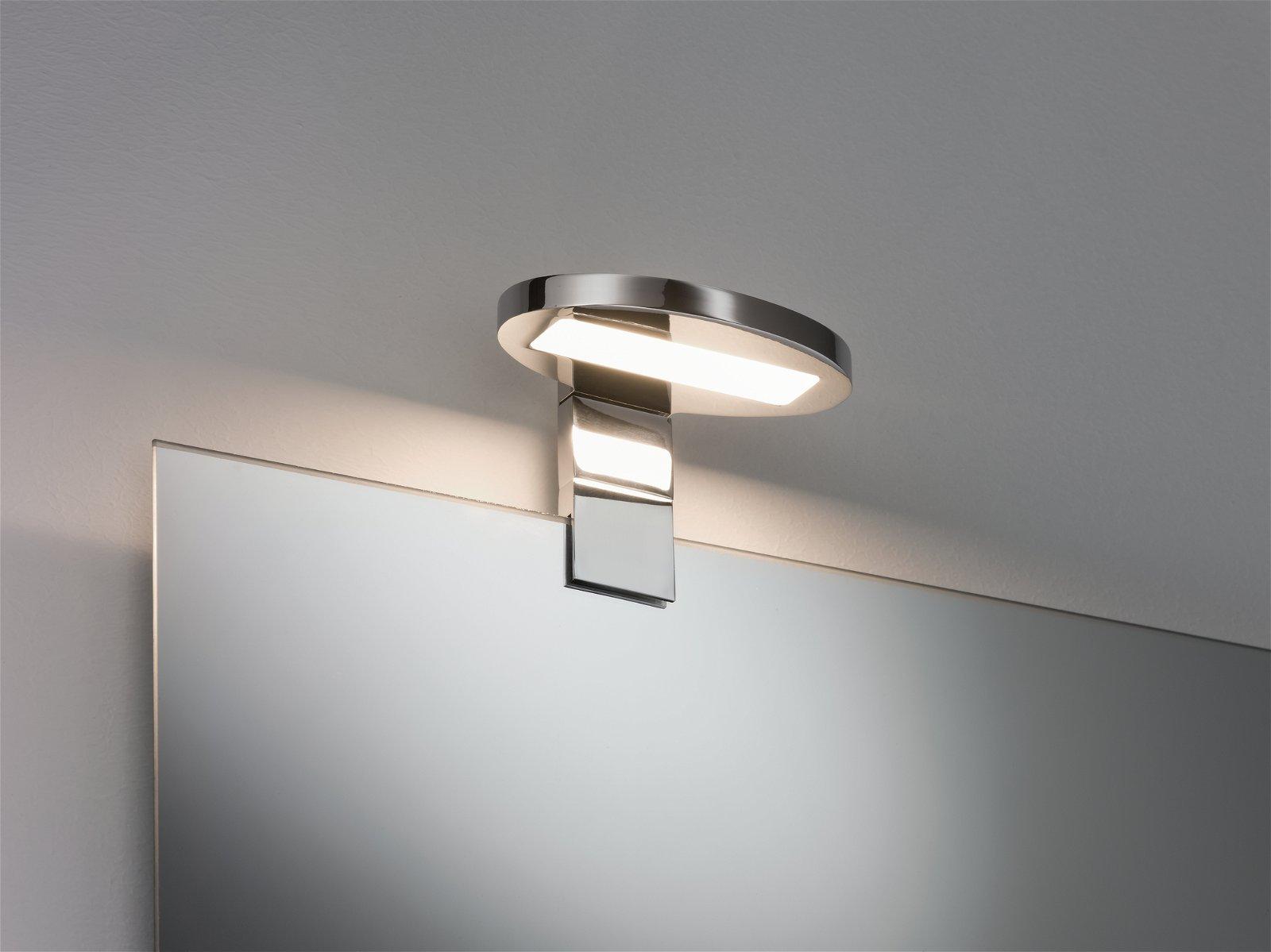 Galeria Spiegel- und Aufschrankleuchte LED Oval 3,2W Chrom