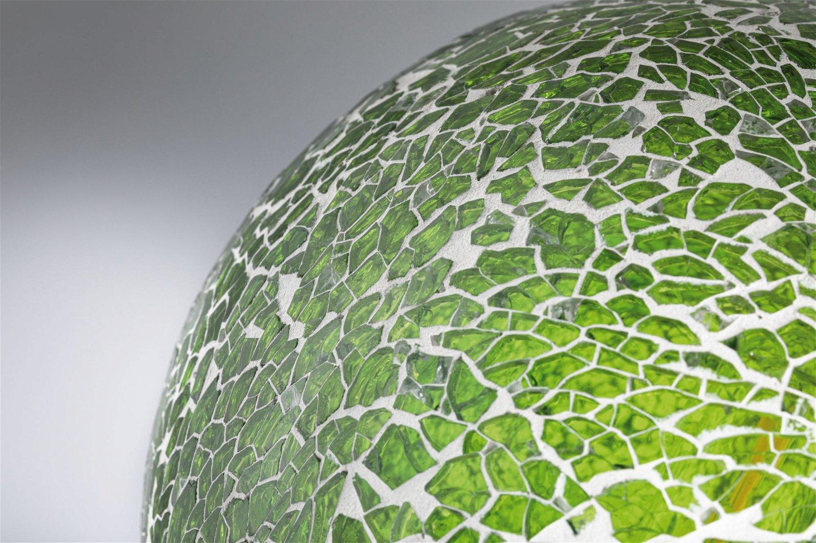 Miracle Mosaic Edition LED Globe E27 230V 470lm 5W 2700K Grün