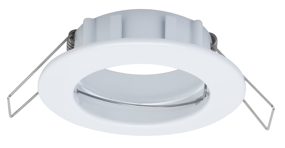 Premium LED-inbouwlamp Set van 3 star IP44 rond 79mm max. 3x50W Wit
