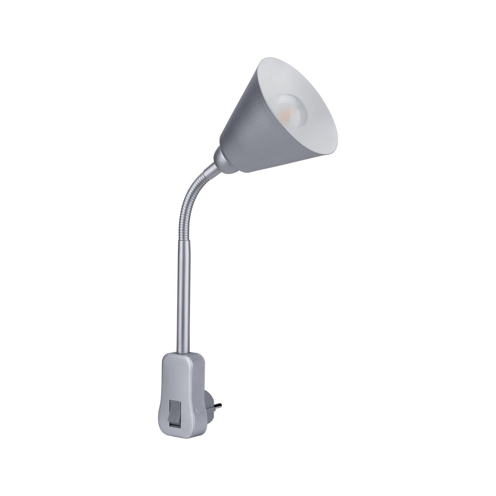 Stekkerlamp Junus Grijs 230V E14