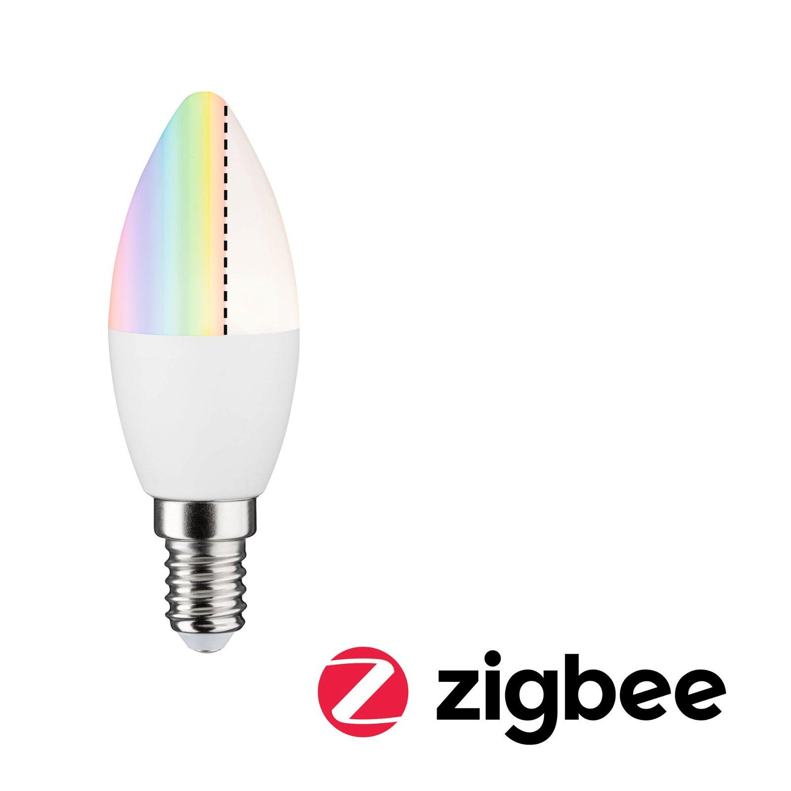 LED Kerze Smart Home Zigbee E14 230V 470lm 6,3W RGBW Matt