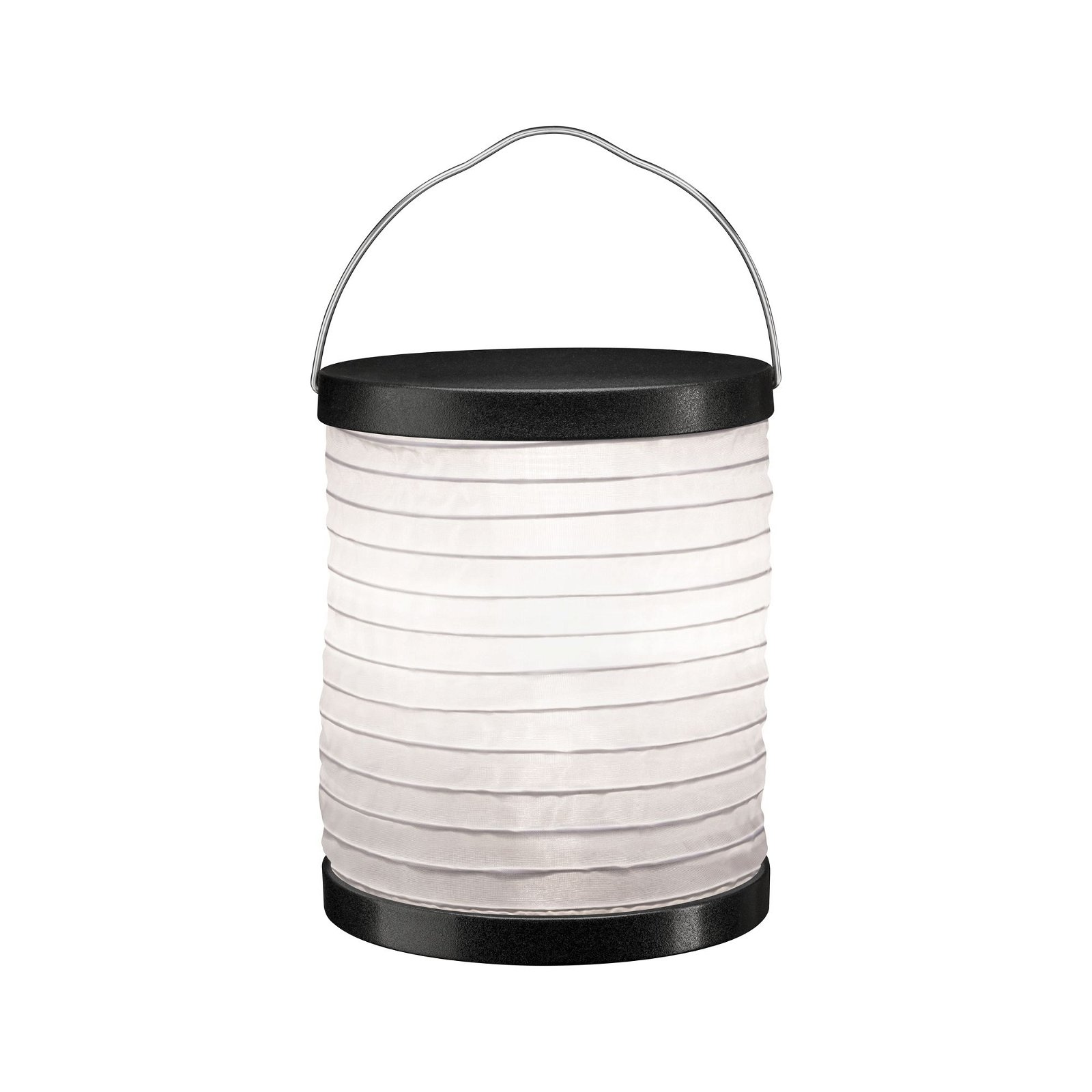 Outdoor lampion Mobile IP44 Wit/Antraciet, Accuvoeding