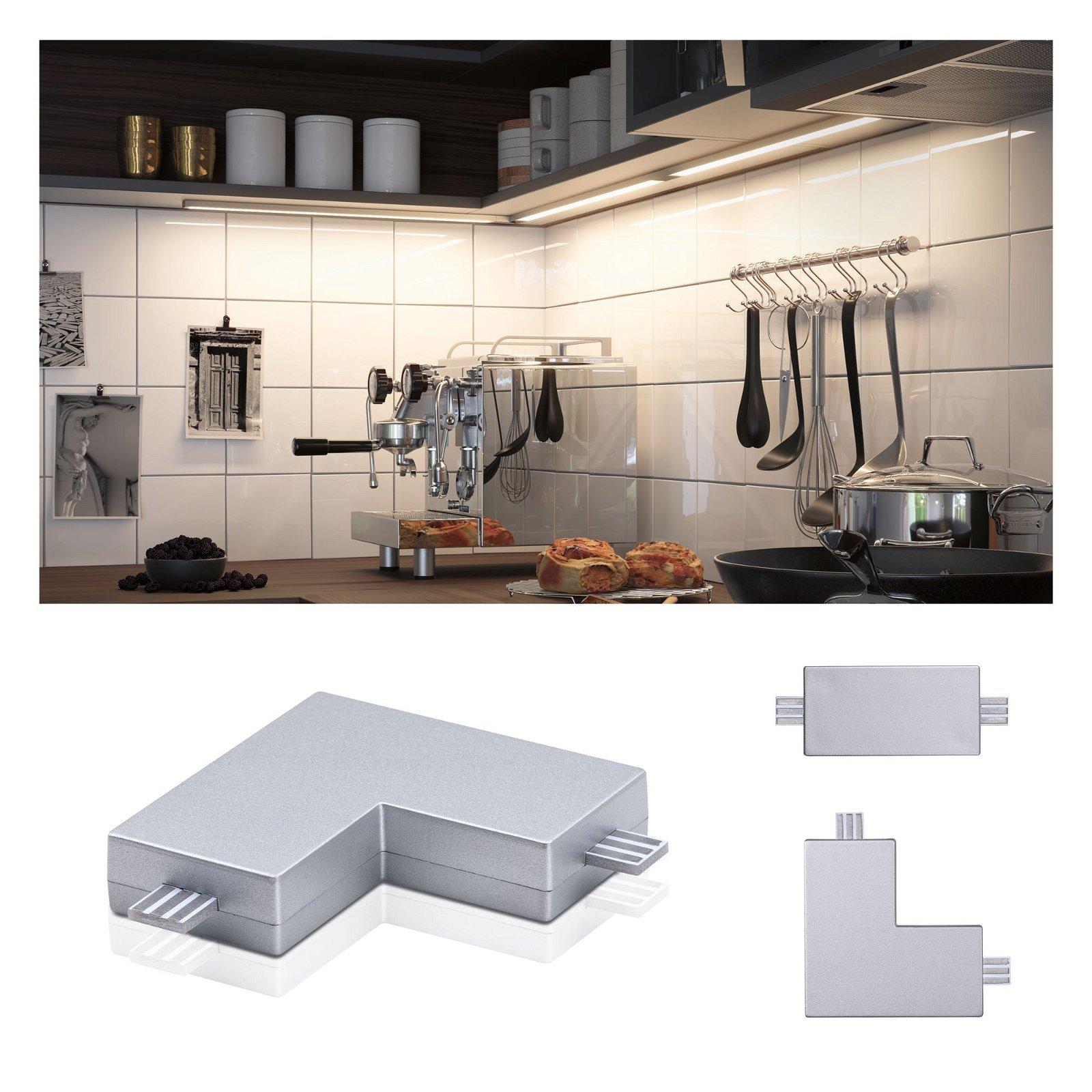 Clever Connect Verbinder Barre 50x50mm Chrom matt