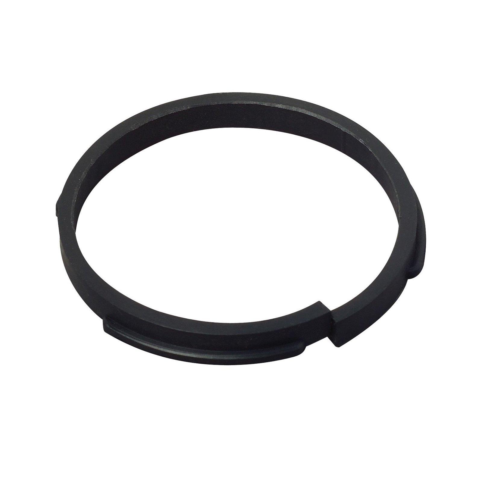 Klemring zwart (kunststof) voor meubelinbouwlamp