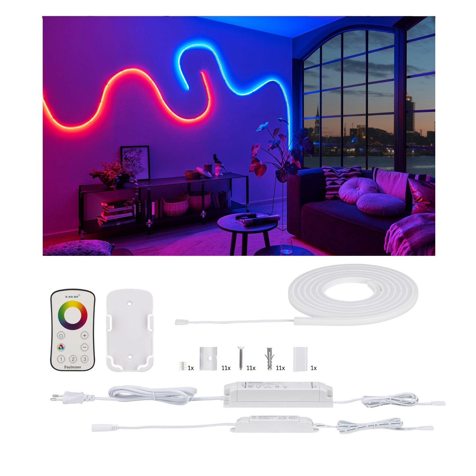 MaxLED Flow LED Strip RGB 3m 27W 1200lm RGB 36VA