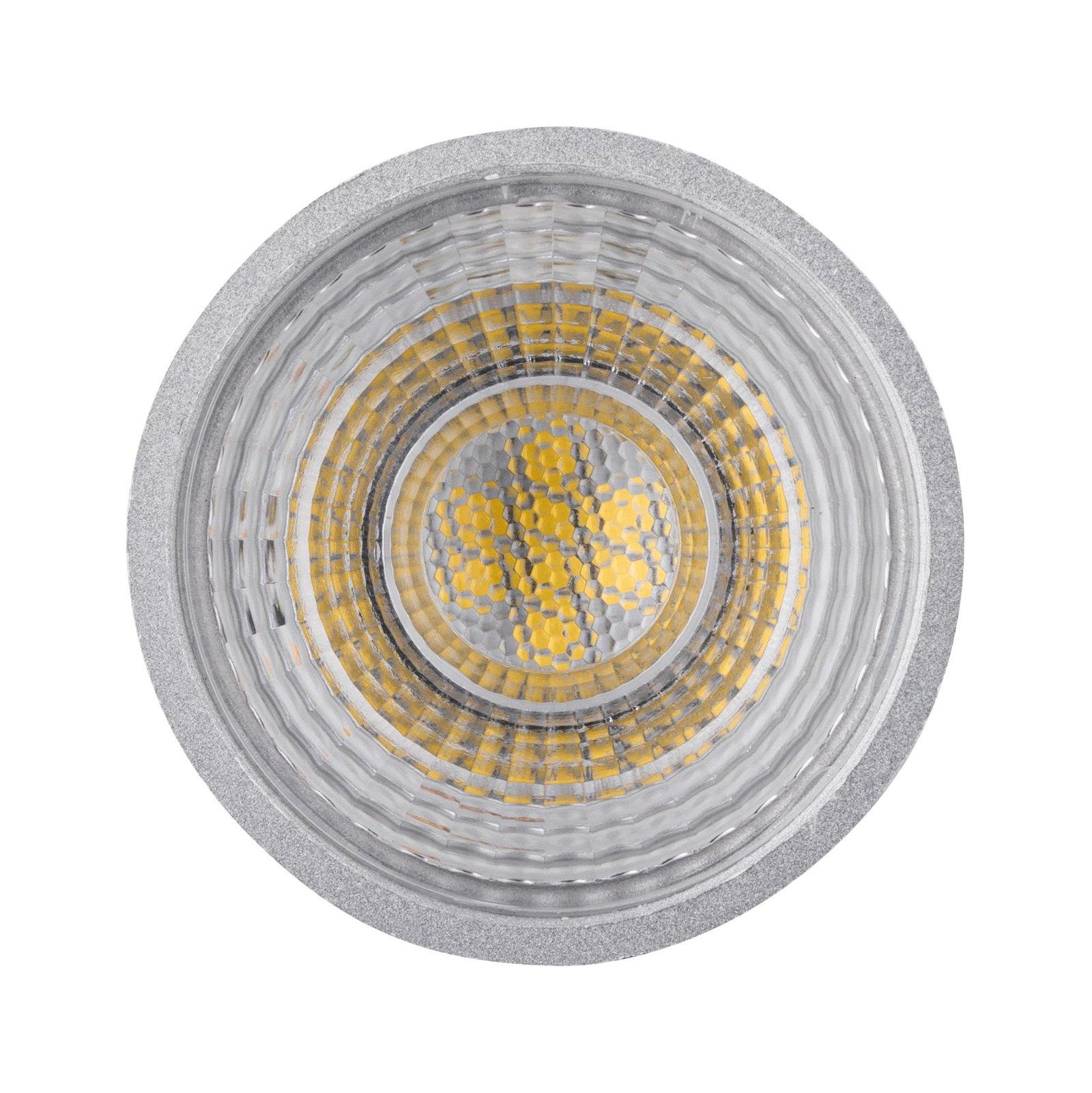 Réflecteur LED GU10 230V 460lm 7W 4000K Chrome mat