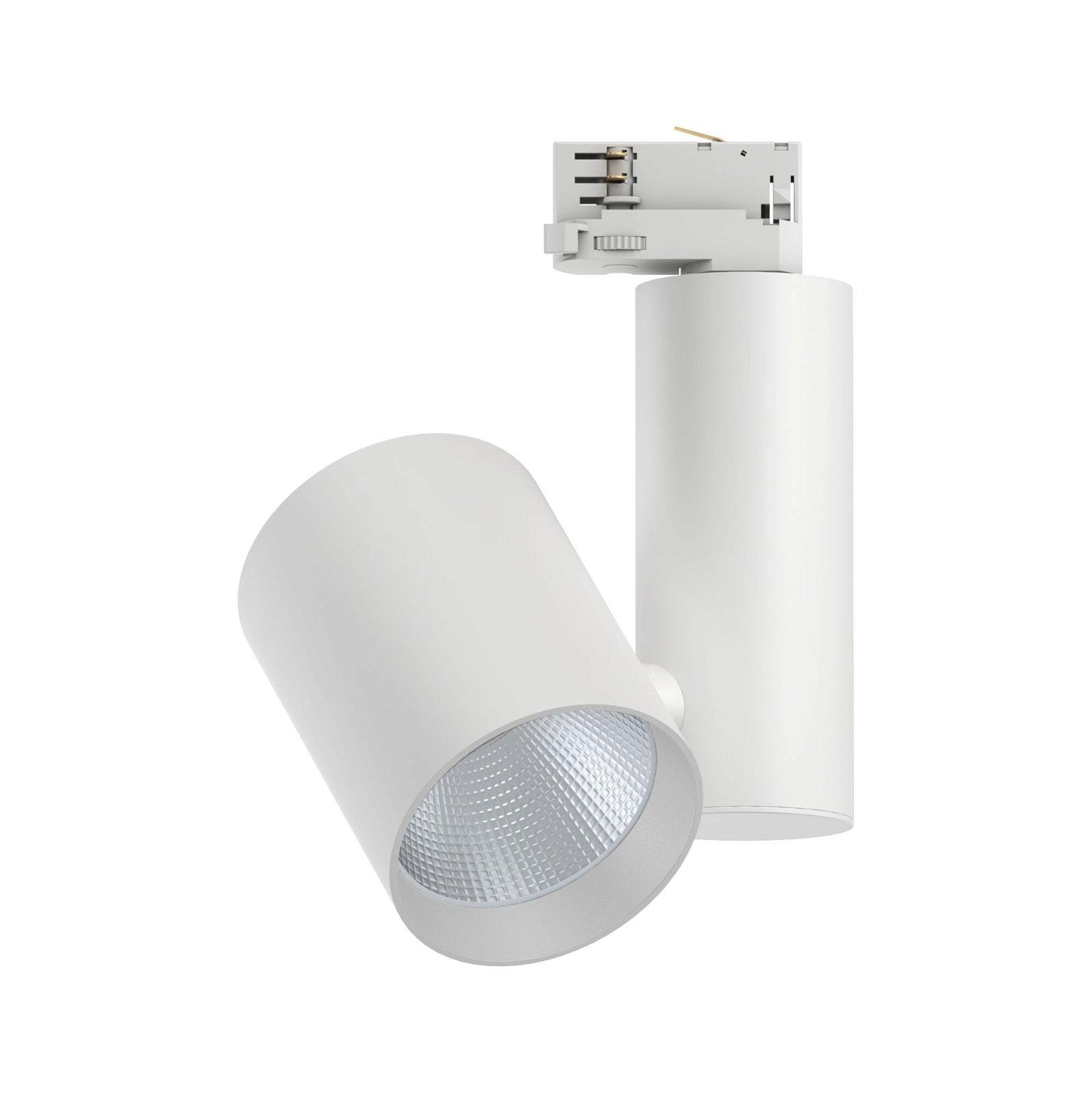 ProRail3 LED Schienenspot Zeuz 15° 3680lm 33W 3000K 230V Weiß