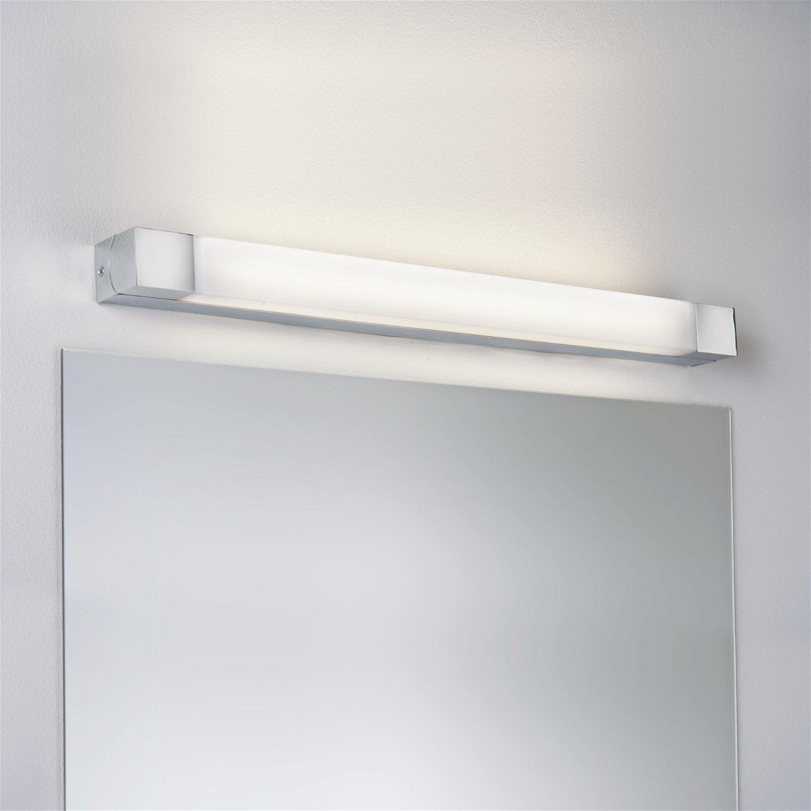 LED Spiegelleuchte Quasar IP44 3000K 980lm 230V 7,5W Chrom/Weiß