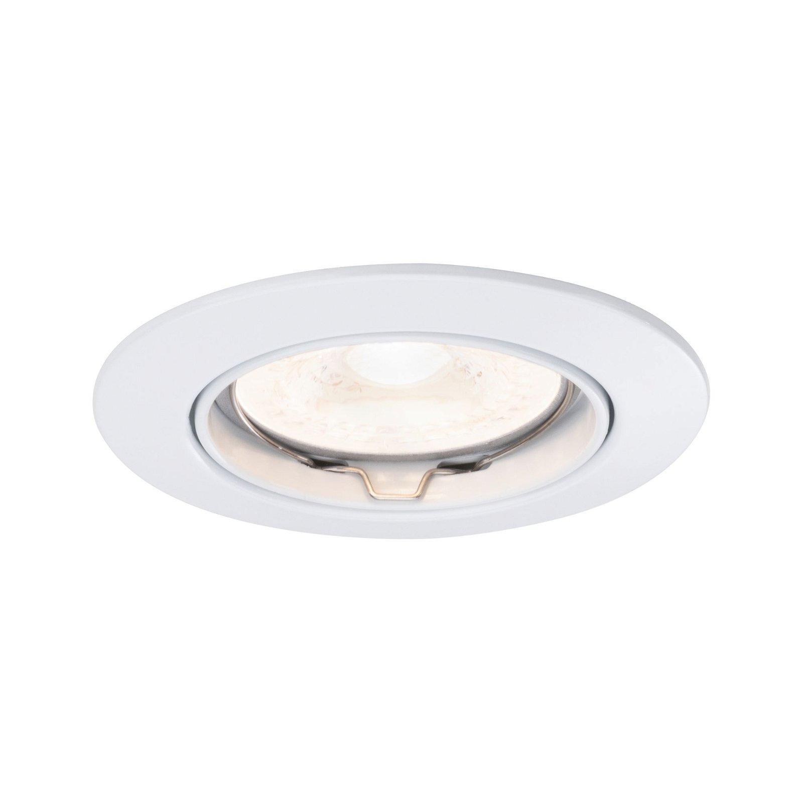 Premium LED Einbauleuchte rund 83mm 30° GU10 max. 50W 230V Weiß