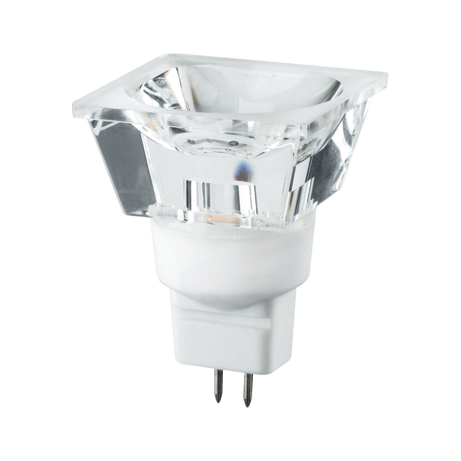 LED Diamond Quadro 3 W GU5,3 12 V warmwit