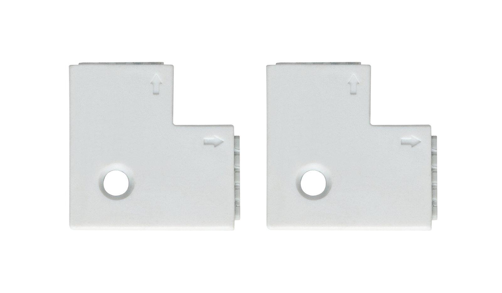 MaxLED Verbinder Eck-Stück 25x25mm max. 144W Weiß