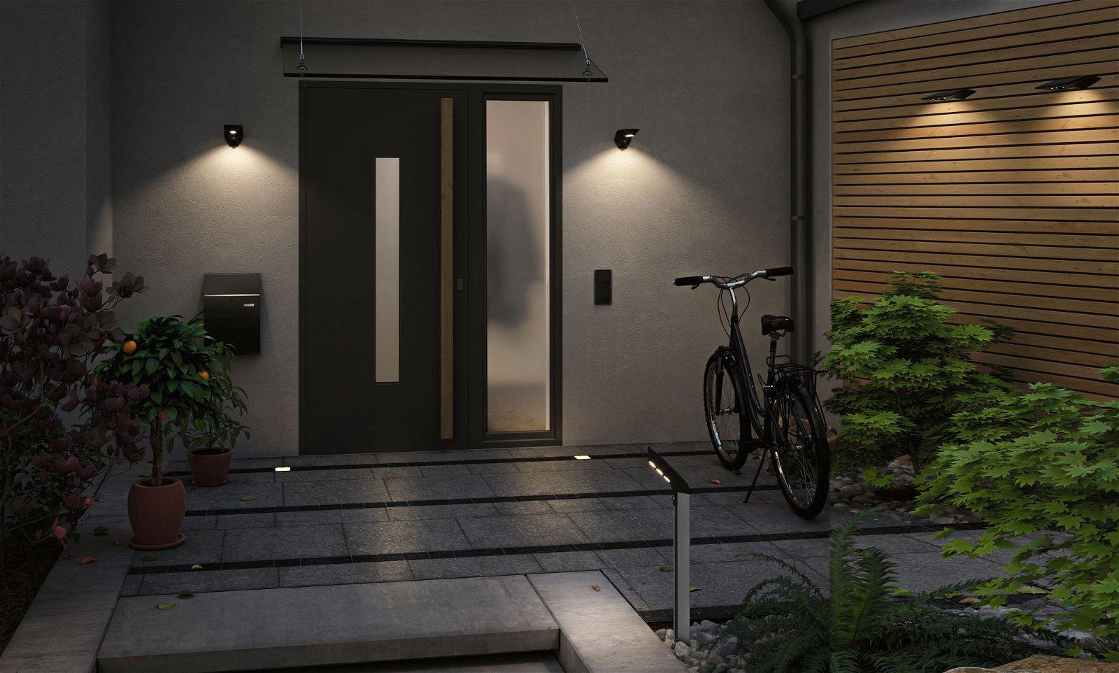 Solar LED-bolderlamp Smart Home Zigbee Soley IP44 3000K 115lm Antraciet