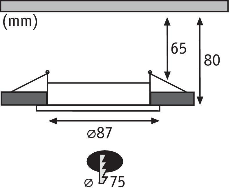 Inbouwlamp Premium Line IP65 Chroom